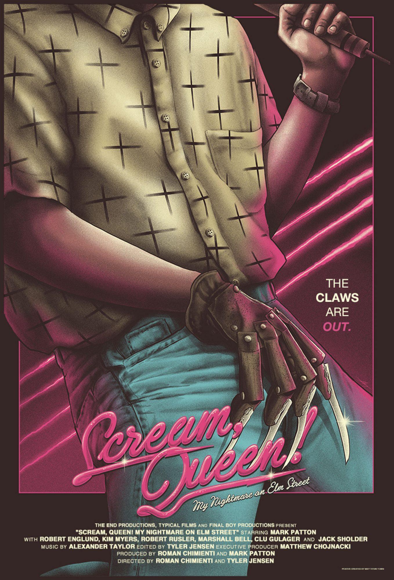 Scream Queen poster CR: Matt Ryan Tobin/The End Productions