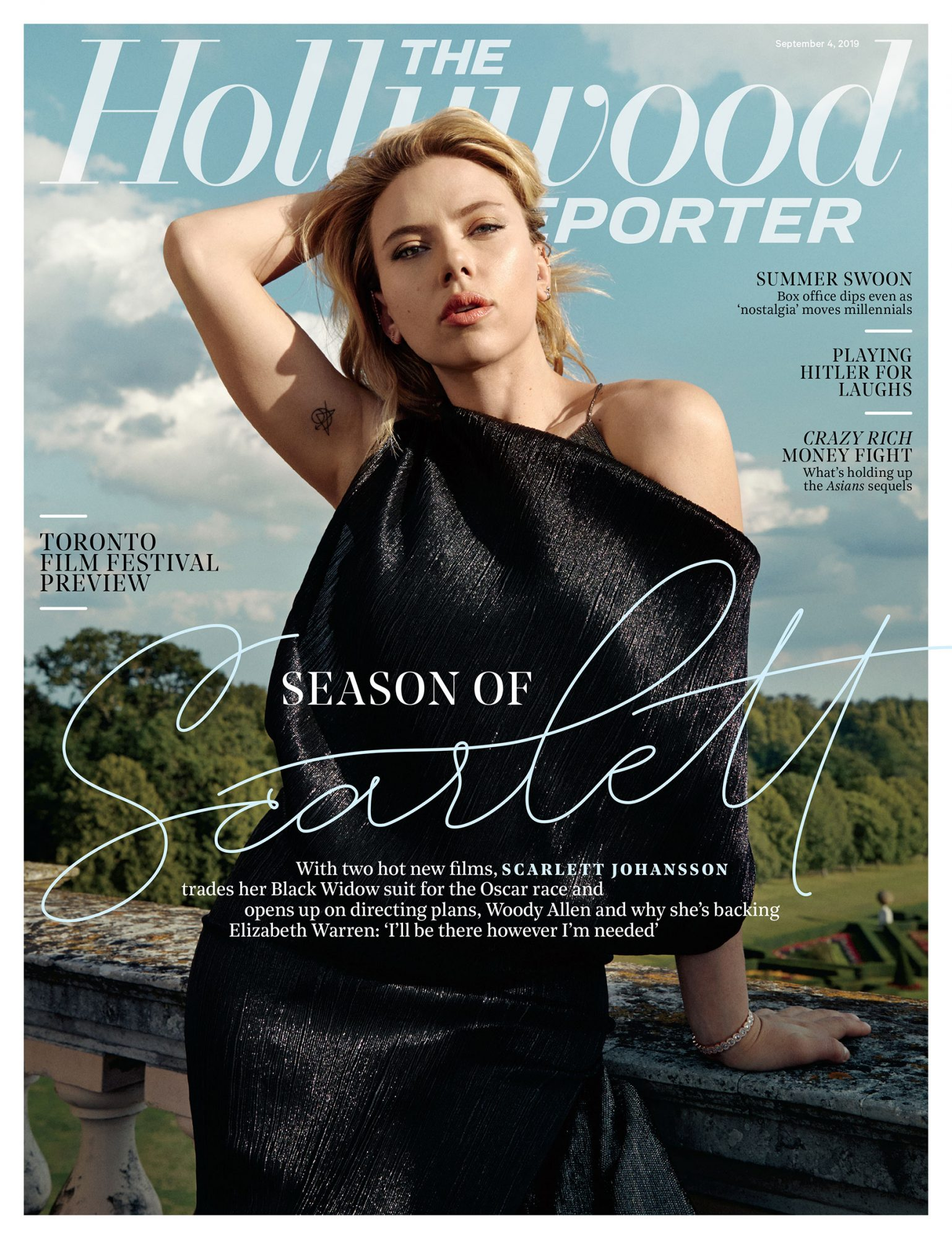 The Hollywood Reporter Scarlett Johansson cover