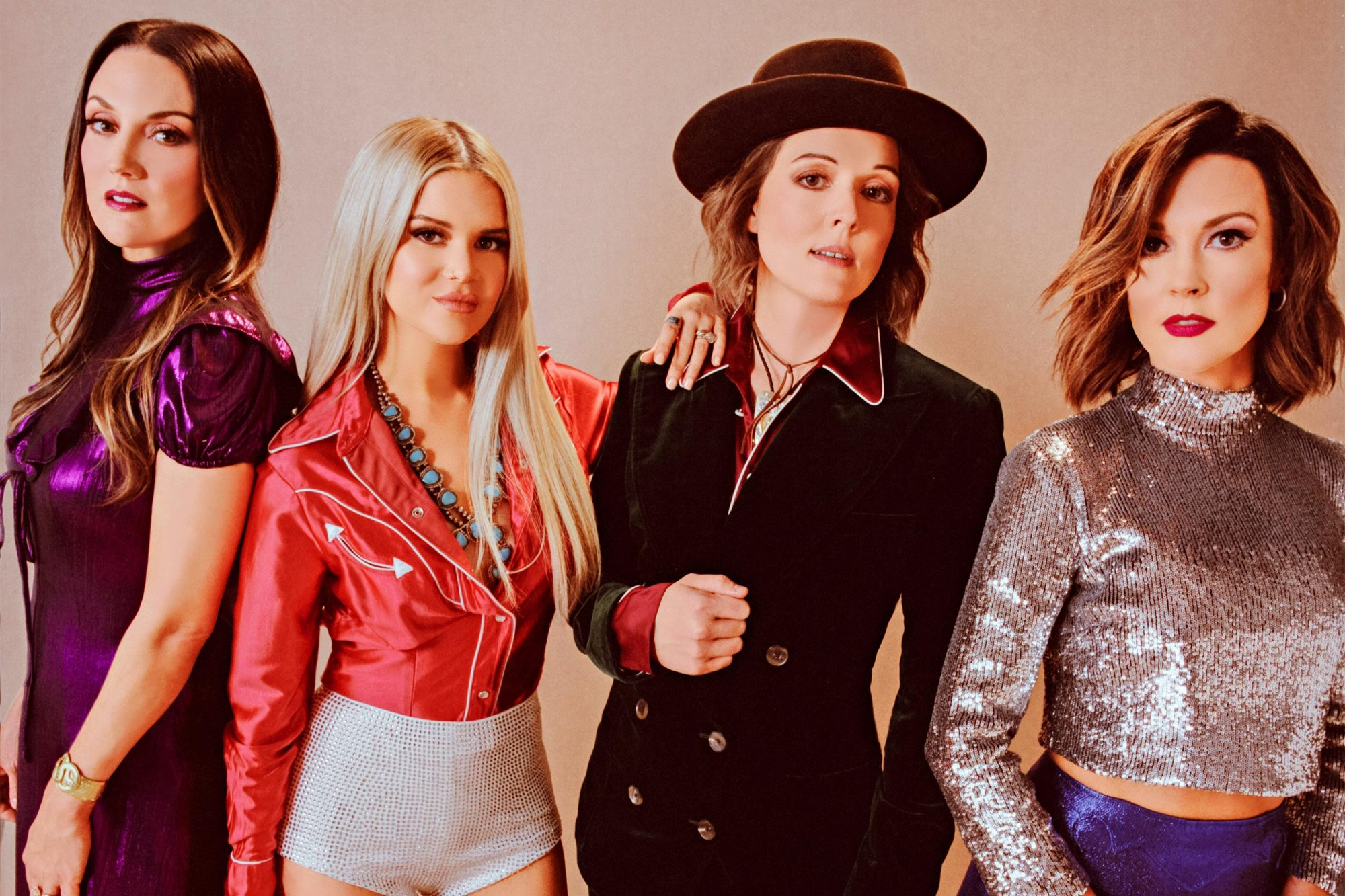 THE HIGHWOMEN Publicity photo (2019) Maren Morris, Brandi Carlile, Amanda Shires, Natalie Hemby
