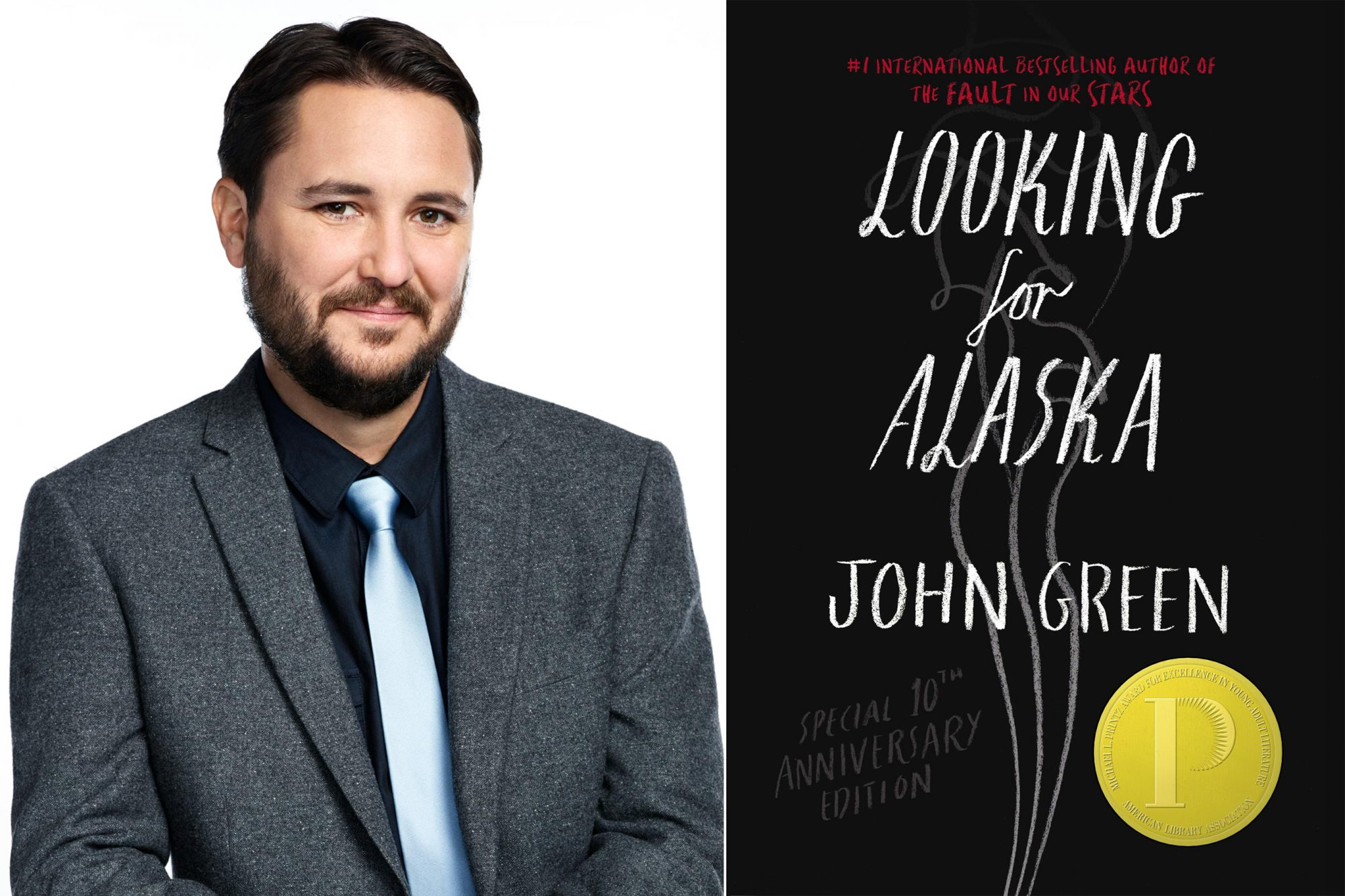 THE WIL WHEATON PROJECT -- Season:1 -- Pictured: Wil Wheaton -- (Photo by: Matt Hoover/Syfy/NBCU Photo Bank via Getty Images) Looking for Alaska by John Green CR: Penguin Random House