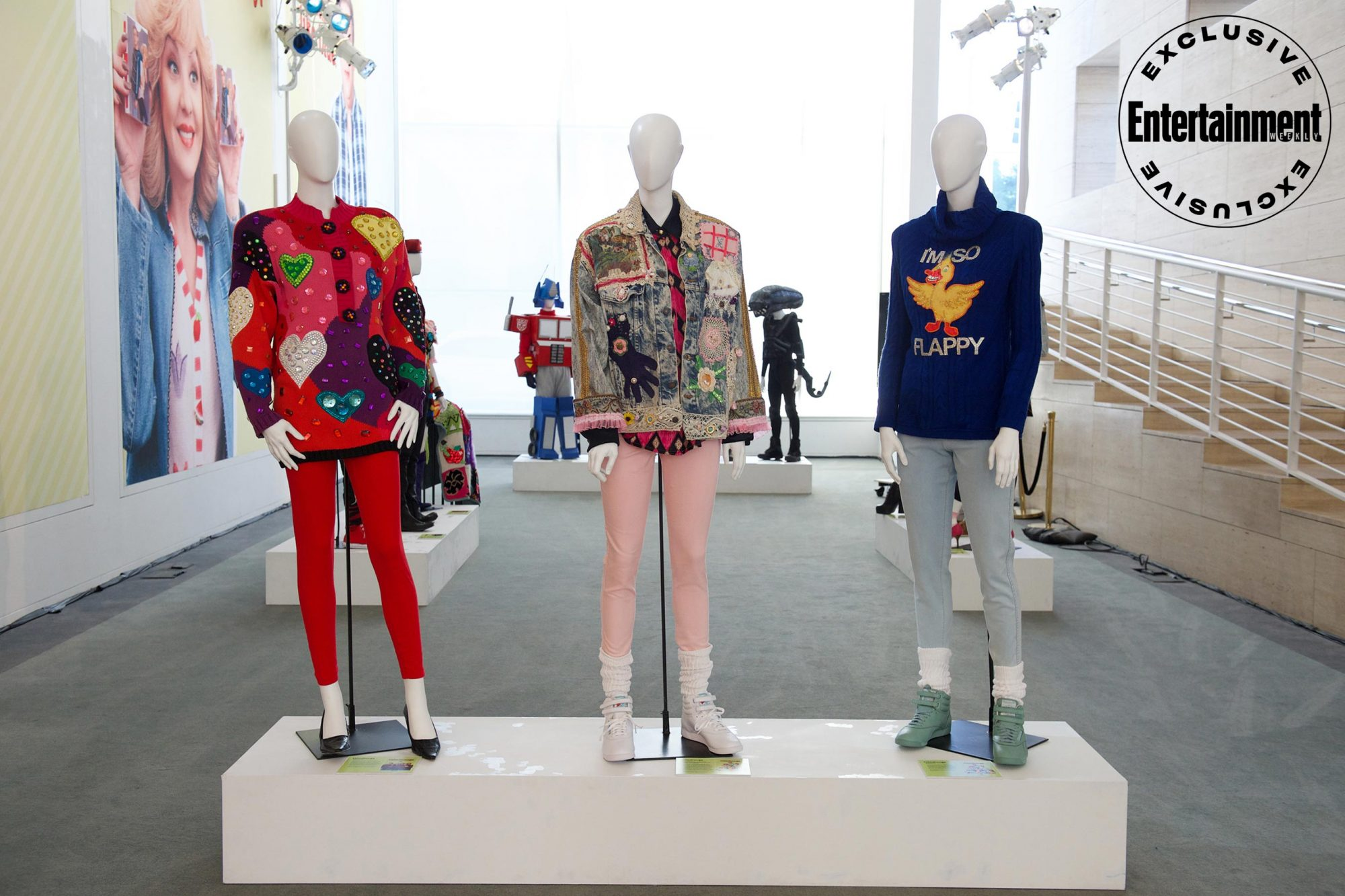 The Goldbergs costume exhibit