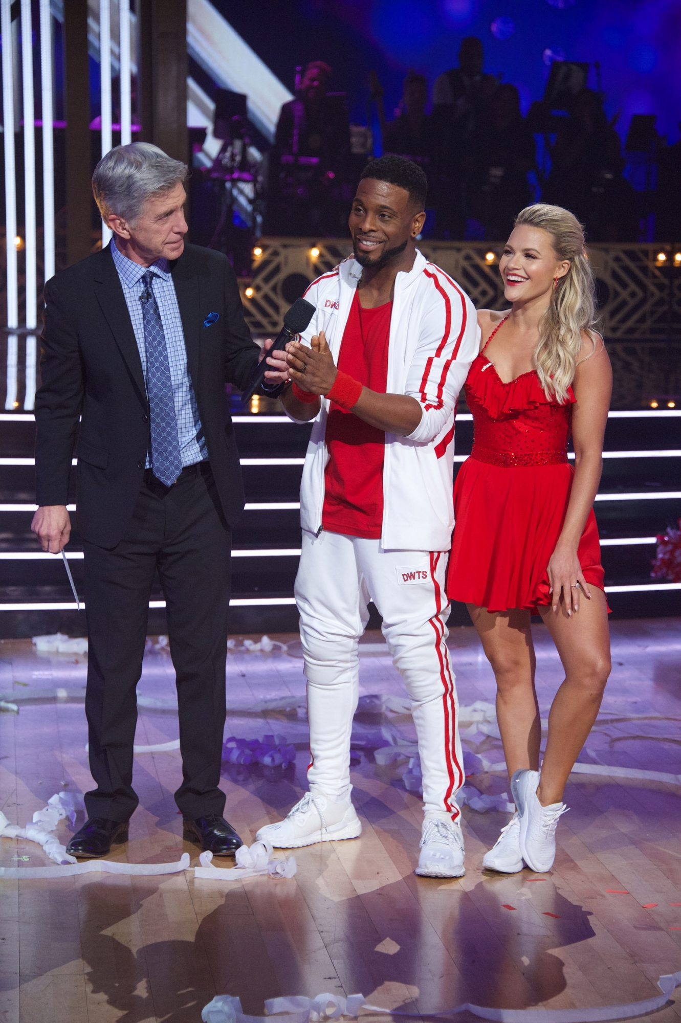 Kel Mitchell and Witney Carson