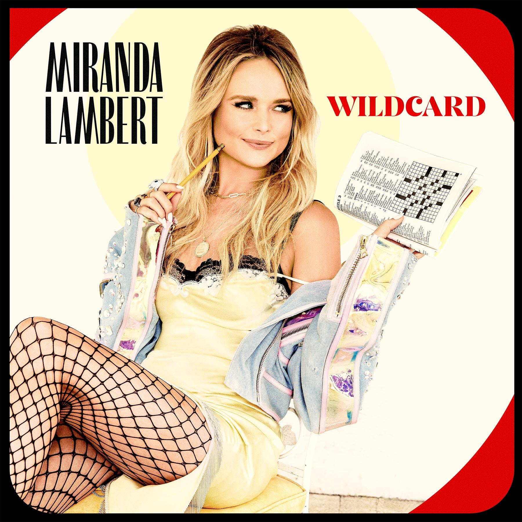 Miranda Lambert 'Wildcard' album cover