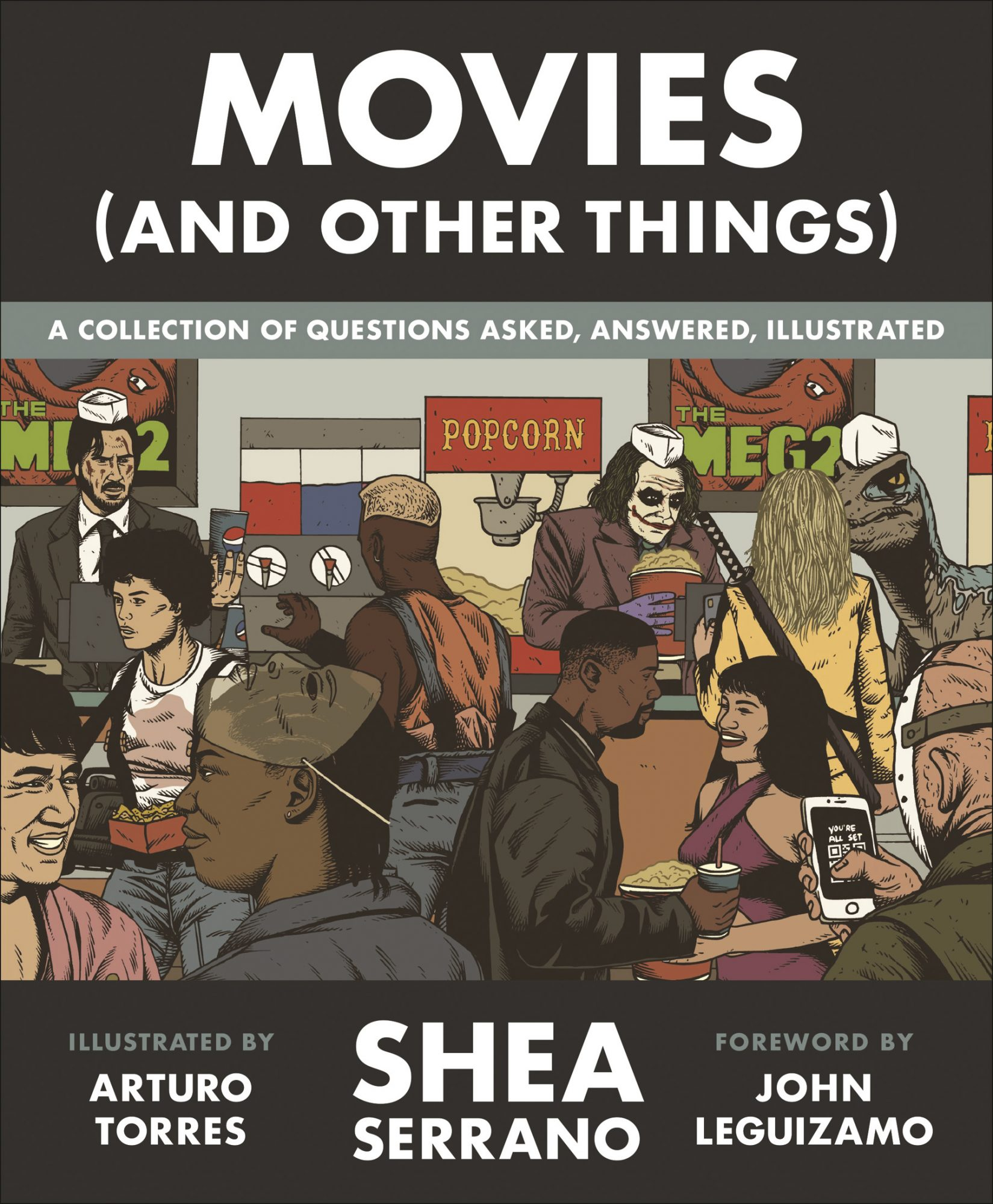 Movies (And Other Things) Book by Shea Serrano CR: Twelve