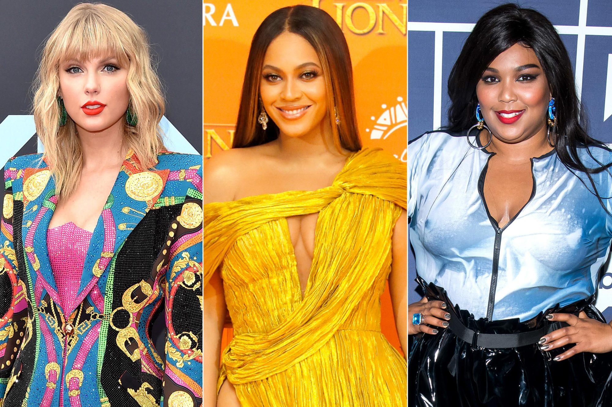 Taylor Swift, Beyonce, Lizzo