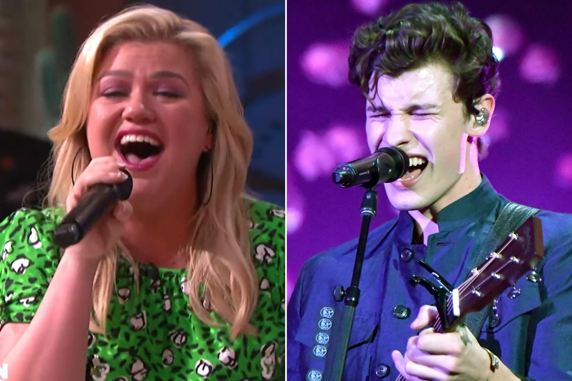 Kelly Clarkson; Shawn Mendes