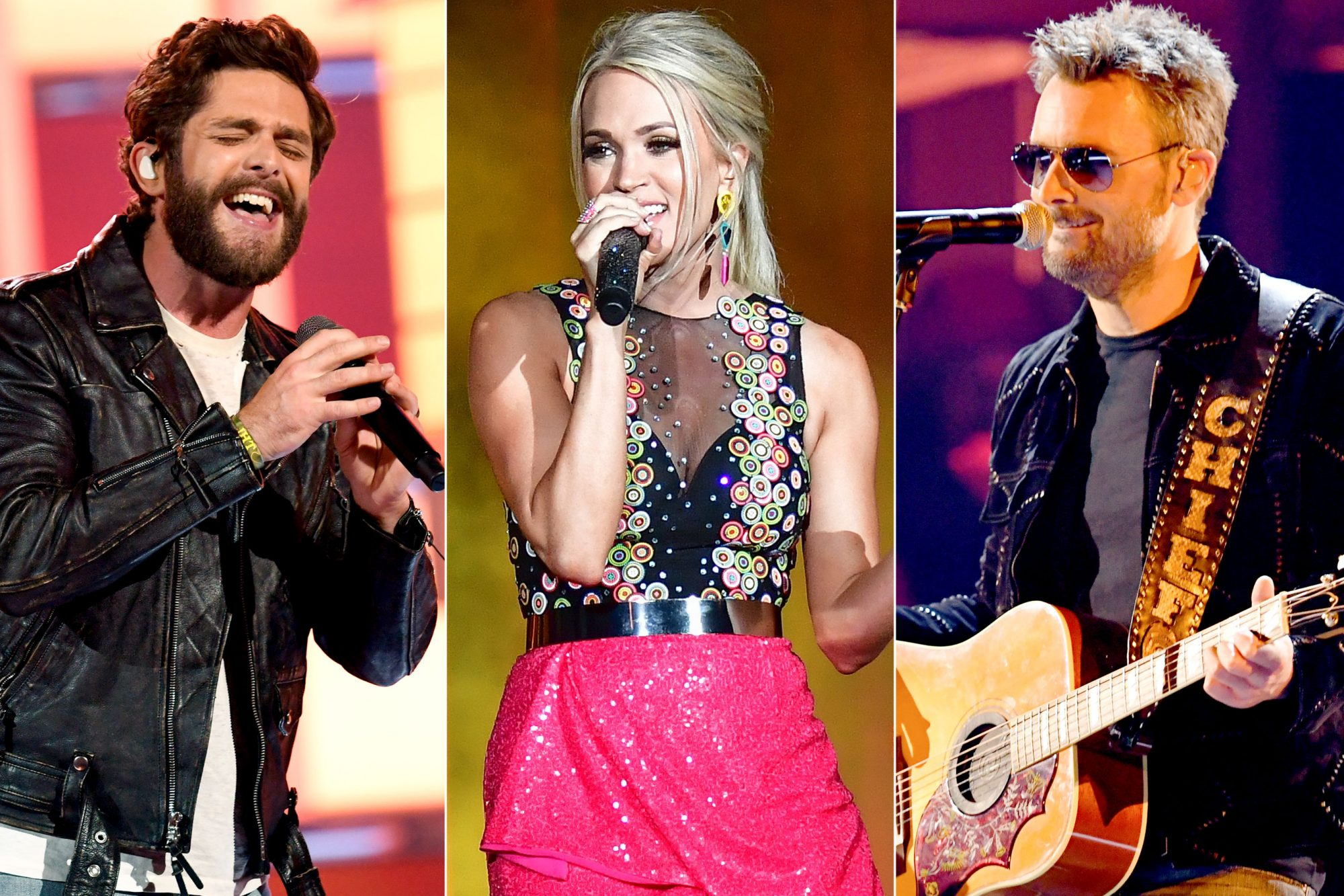 Thomas Rhett / Carrie Underwood / Eric Church