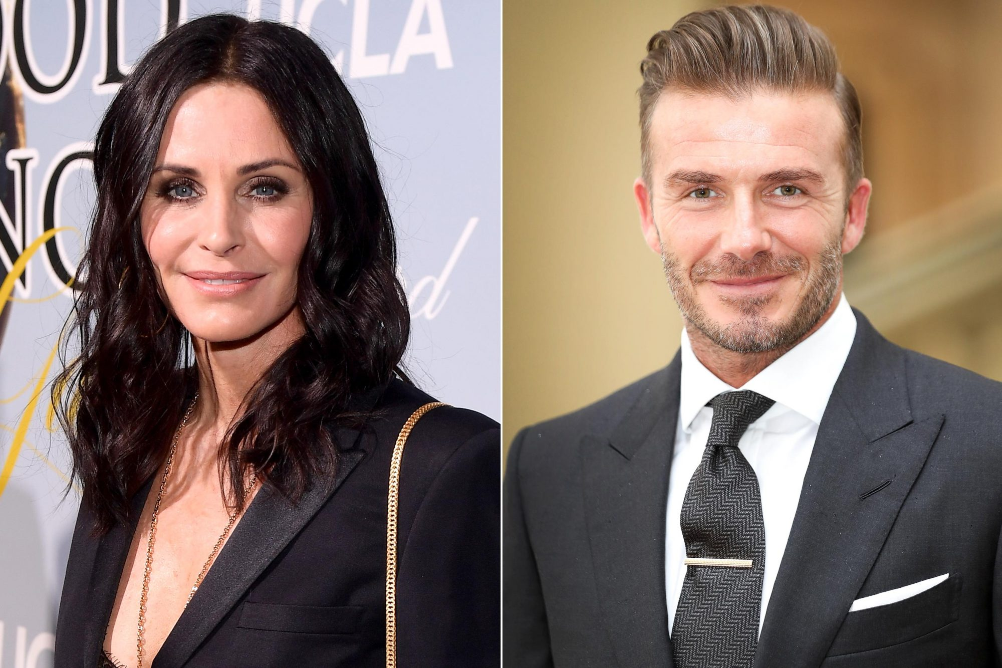 Courteney Cox / David Beckham