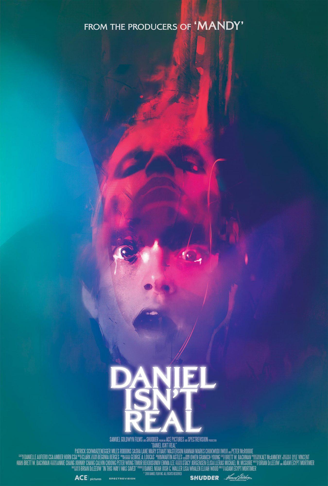 DANIEL ISN'T REAL movie poster CR: Shudder