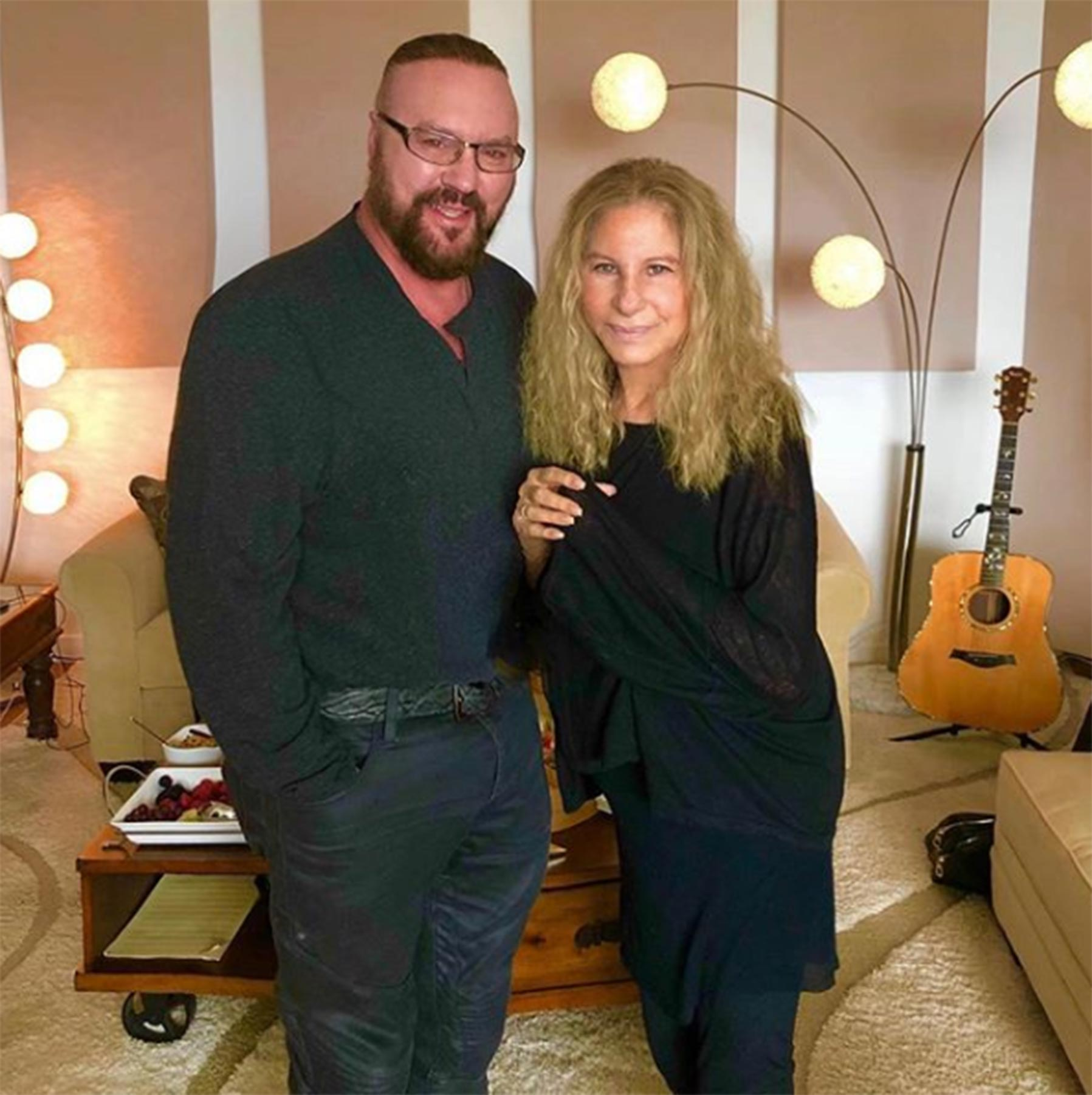 Desmond-Child-&-Barbra-Streisand-1_Photo-by-Jay-Landers