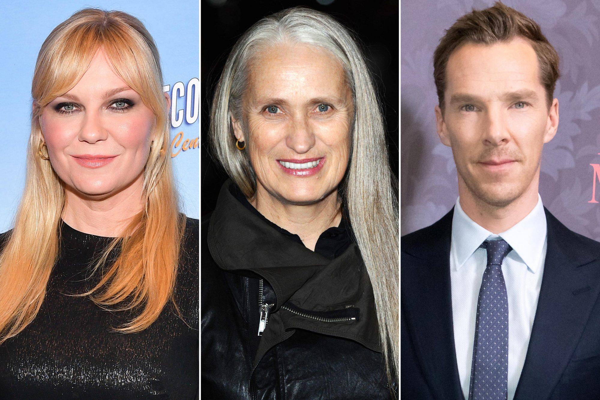 Kirsten Dunst; Jane Campion; Benedict Cumberbatch