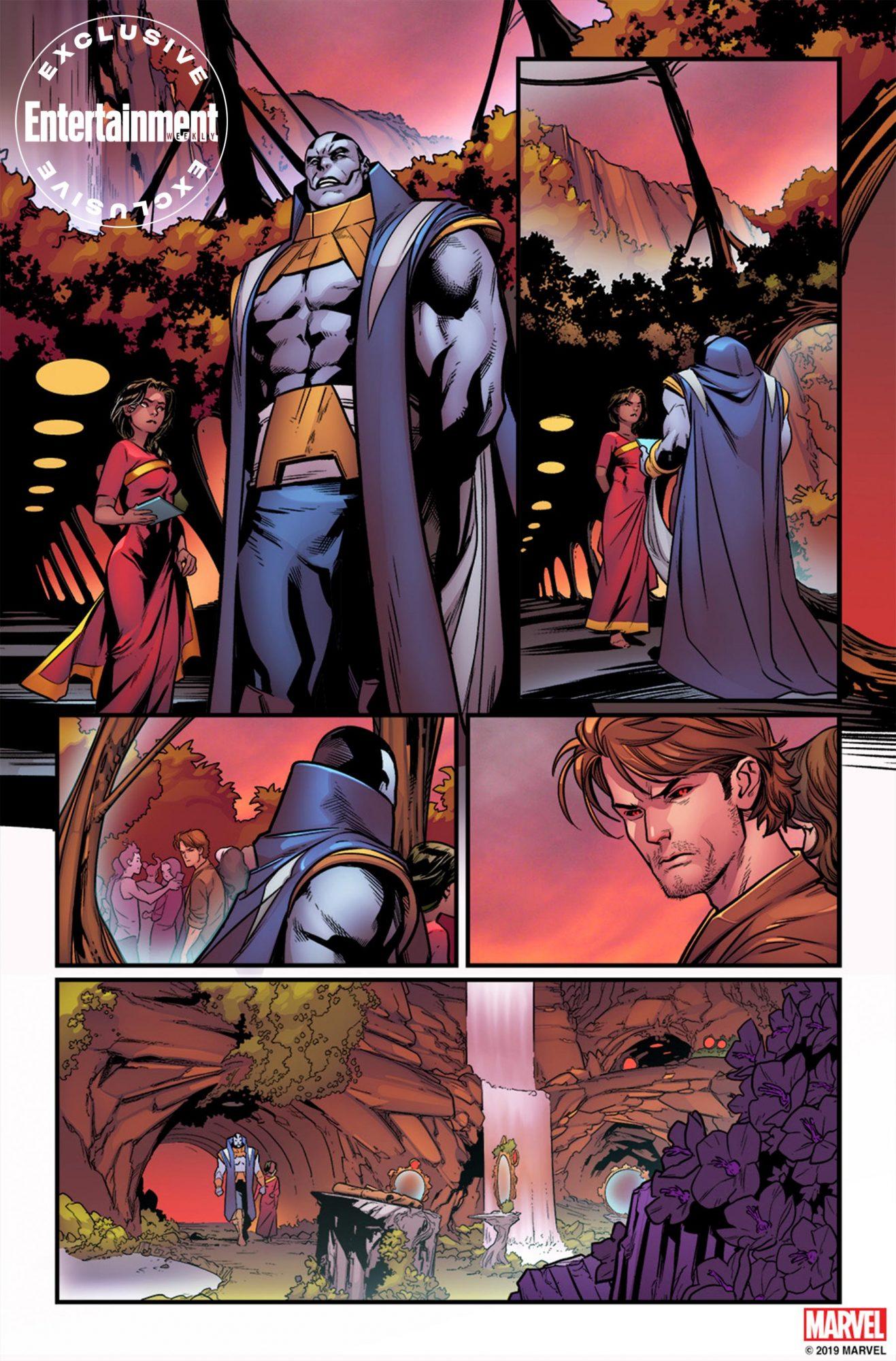 Excalibur comicMarcus To for Marvel Comics