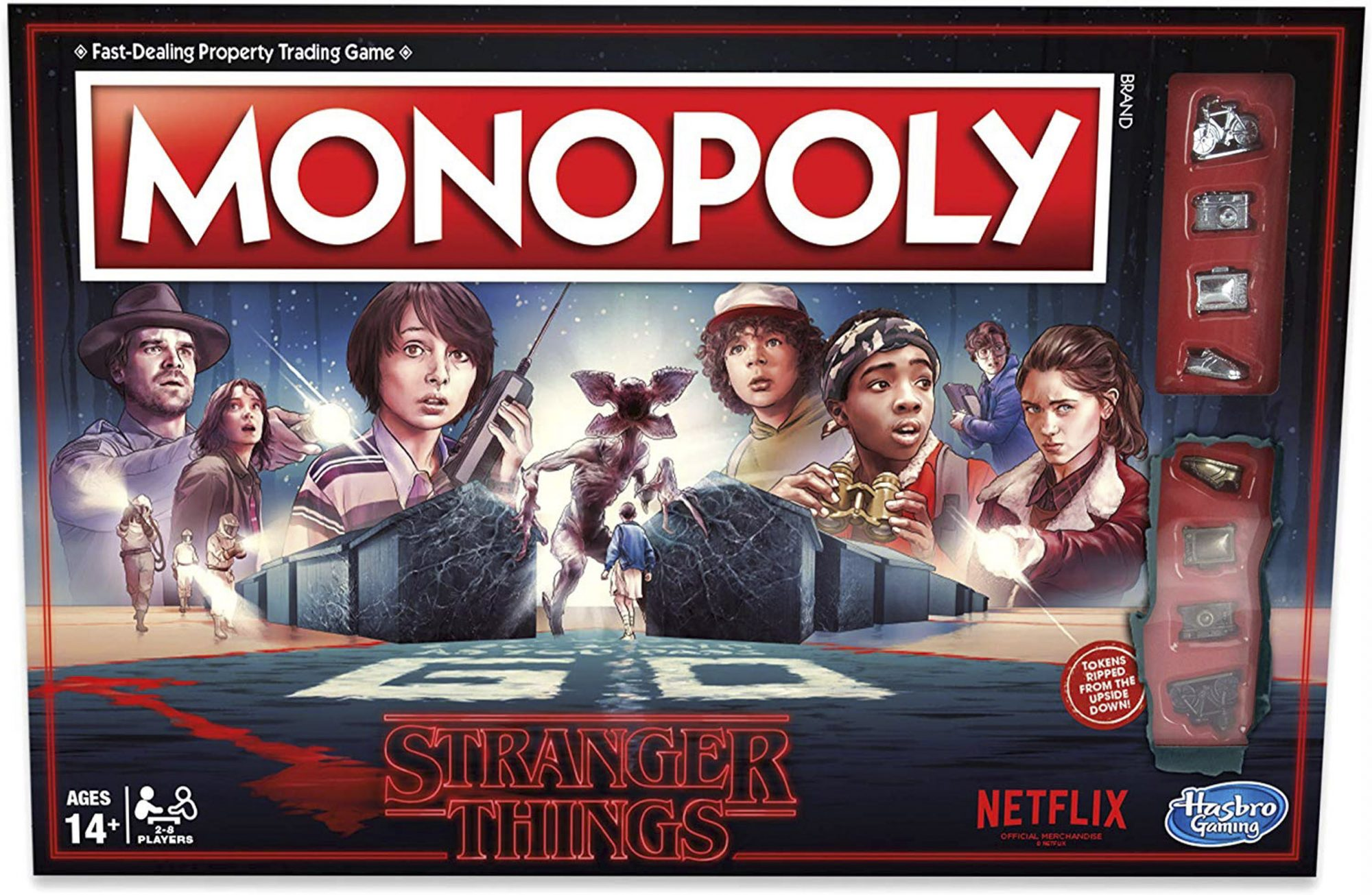 Monopoly Stranger Things Edition on Amazon