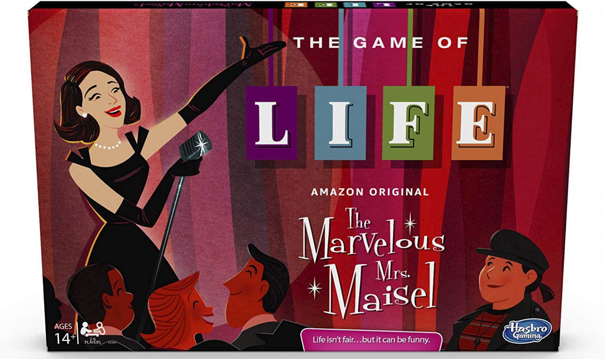 Hasbro Gaming The Game of Life: The Marvelous Mrs. Maisel Edition Board Game on Amazon