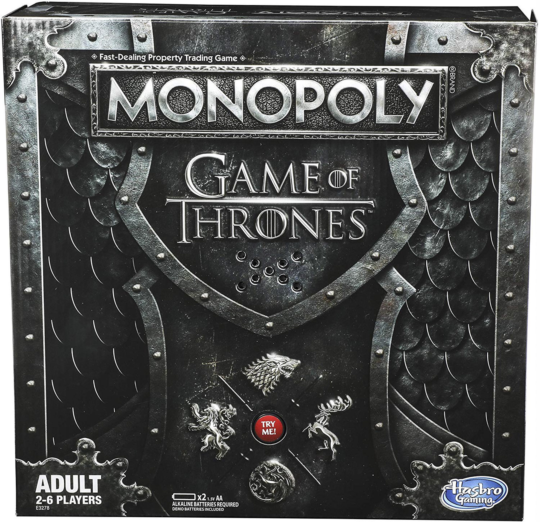 Monopoly Game of Thrones Board Game for Adults on Amazon
