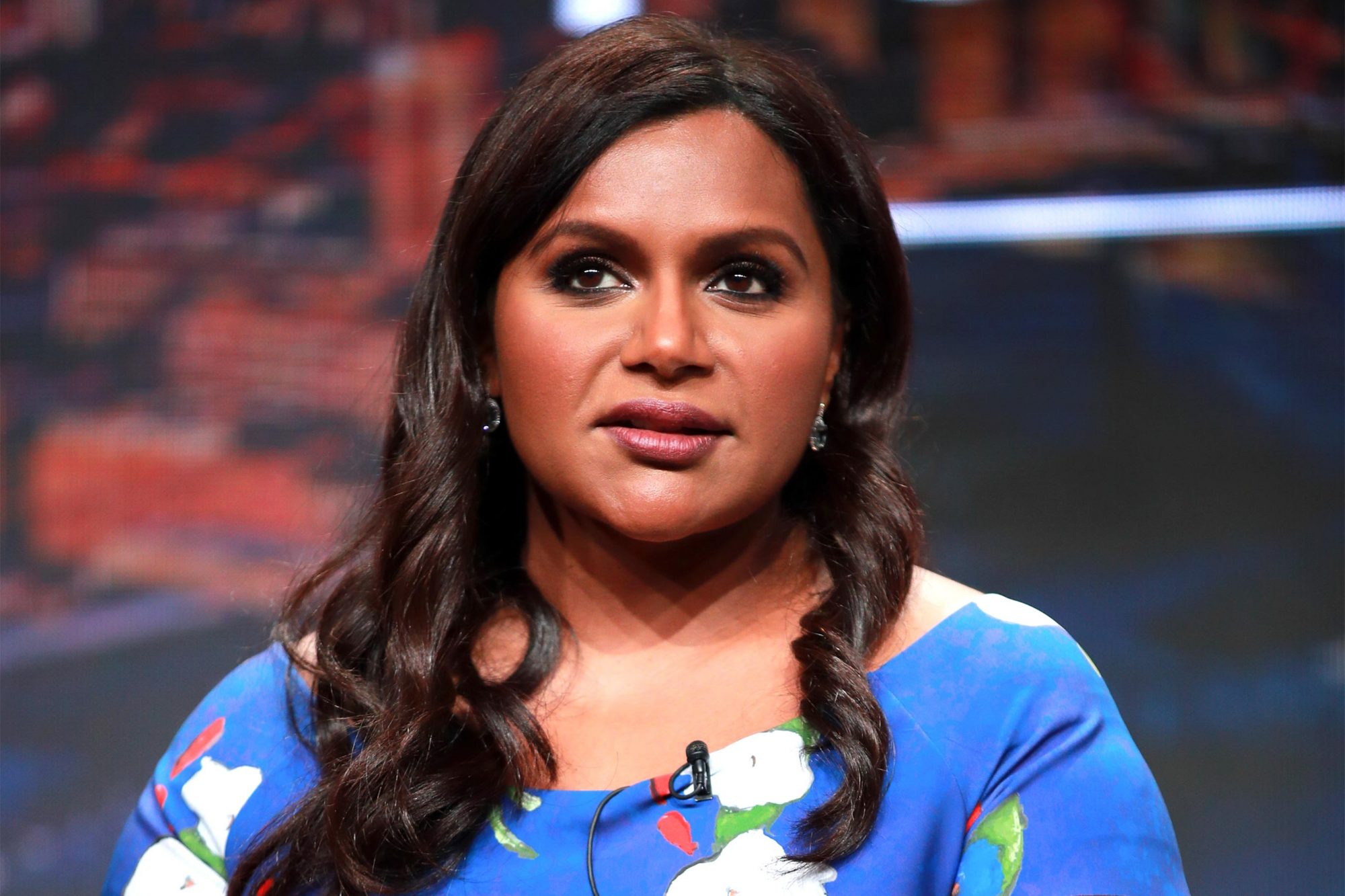 BEVERLY HILLS, CALIFORNIA - JULY 26: Mindy Kaling of 'Four Weddings and a Funeral' speaks onstage during the Hulu segment of the Summer 2019 Television Critics Association Press Tour at The Beverly Hilton Hotel on July 26, 2019 in Beverly Hills, California. (Photo by Rich Fury/Getty Images)