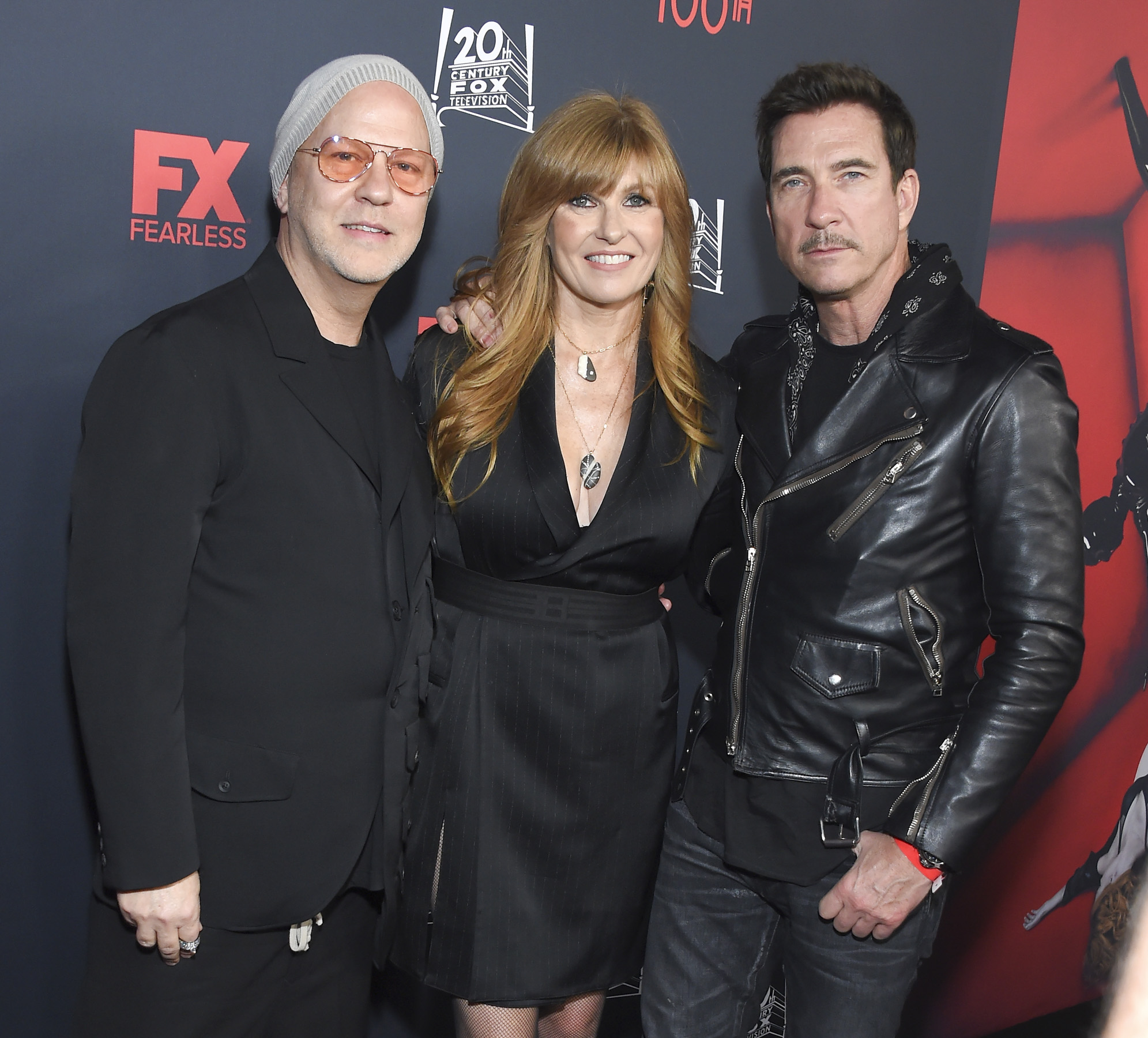 Ryan Murphy, Connie Britton, Dylan McDermott