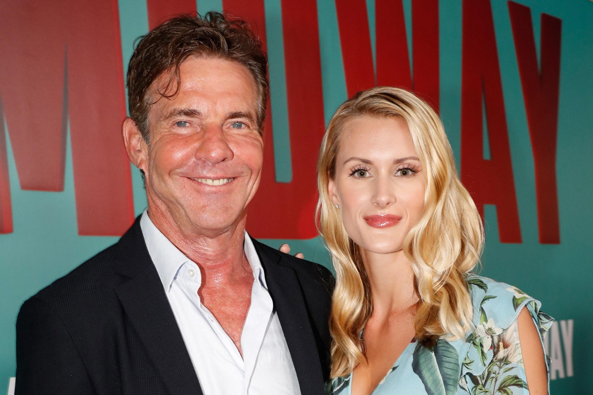 Dennis Quaid and Laura Savoie