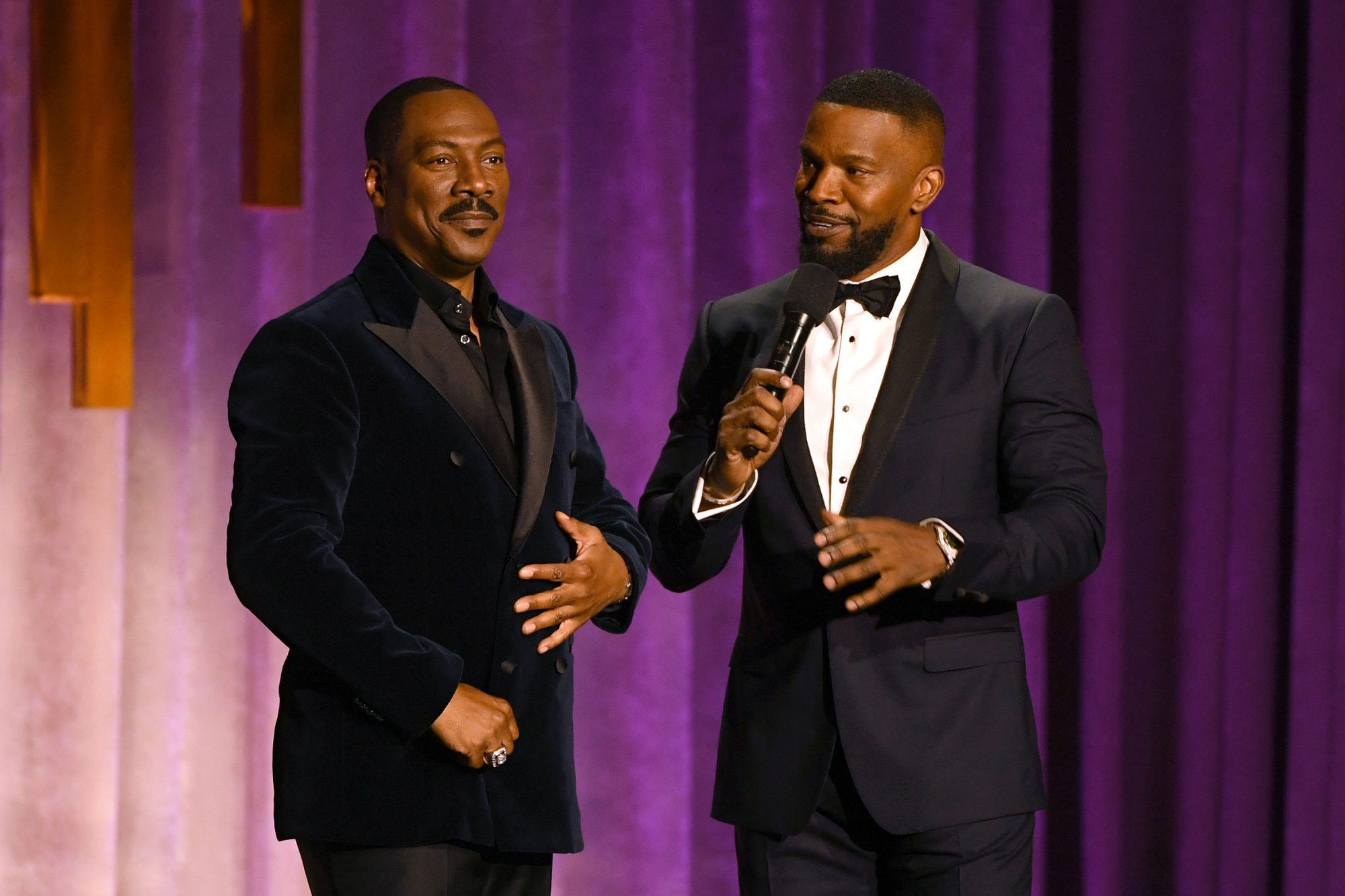 Eddie Murphy and Jamie Foxx