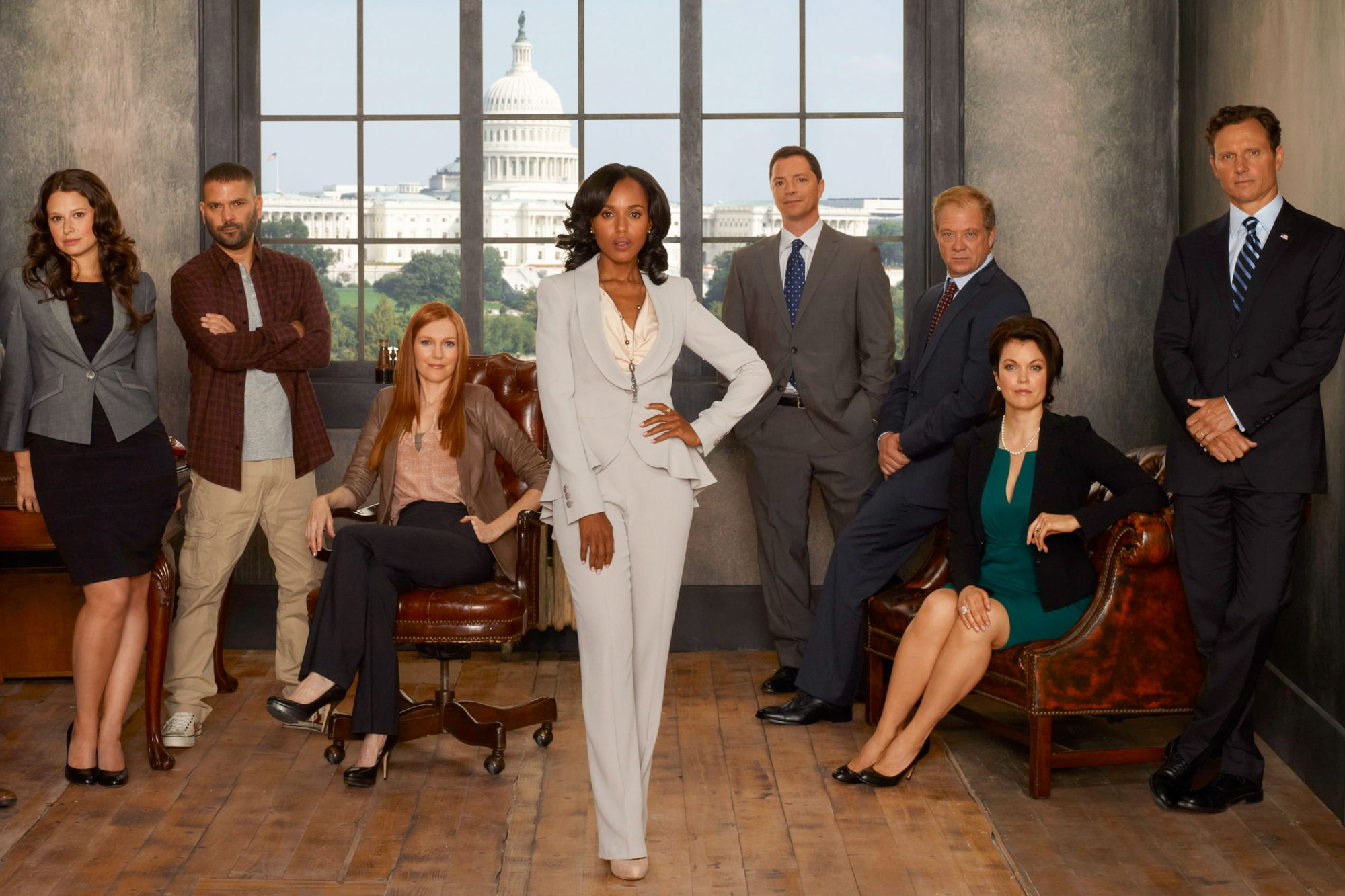 "ABC's ""Scandal"" - Season Two"