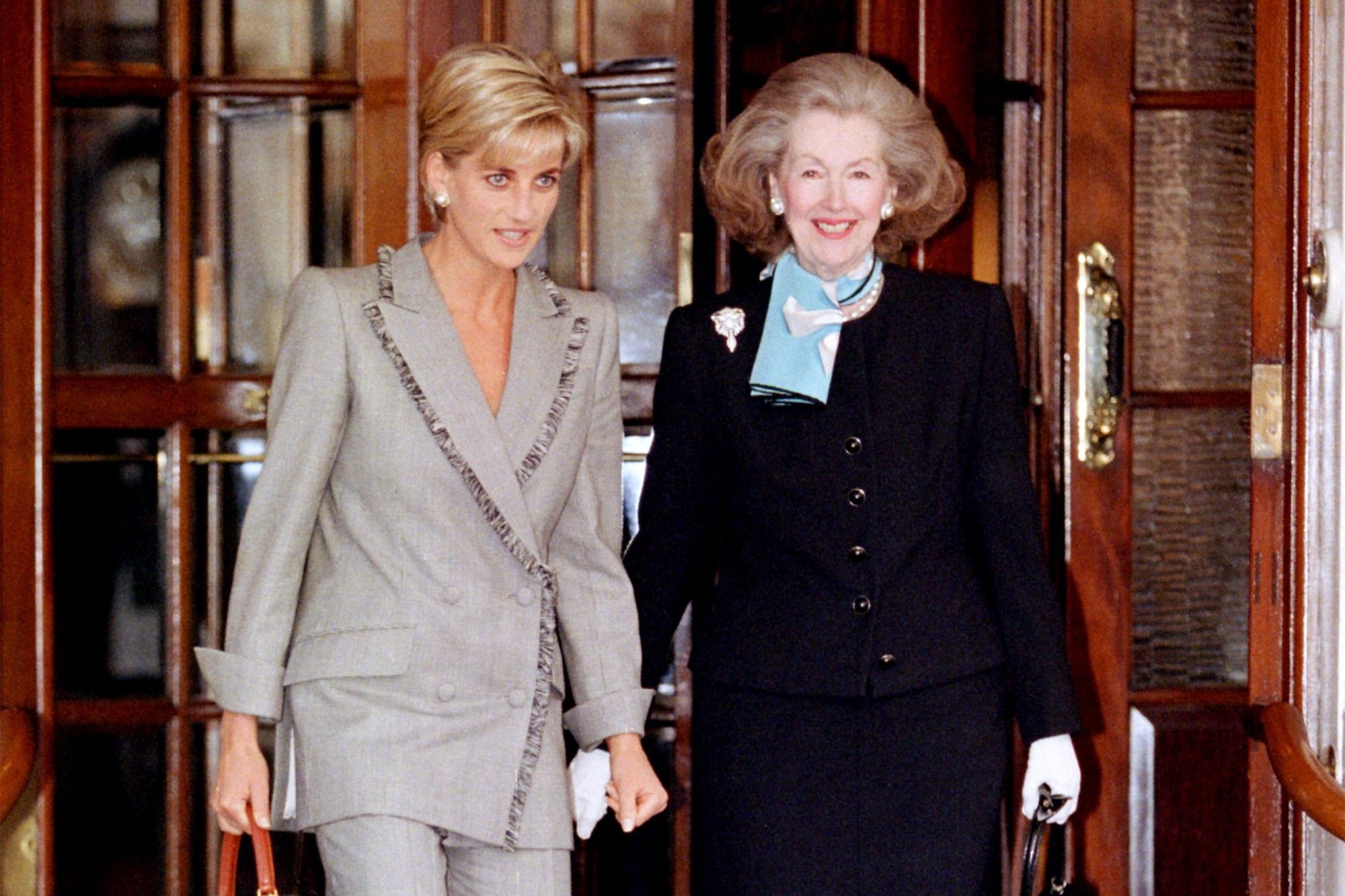 Princess Diana and Raine Spencer
