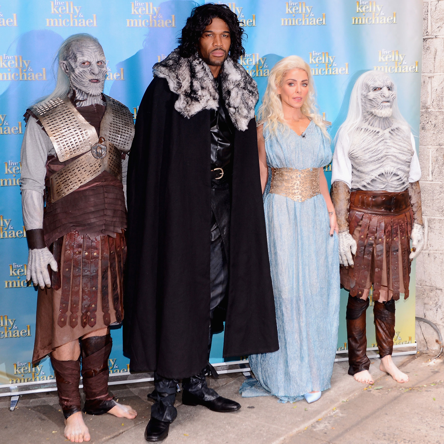 """""""Live With Kelly & Michael"""" Halloween Show"""