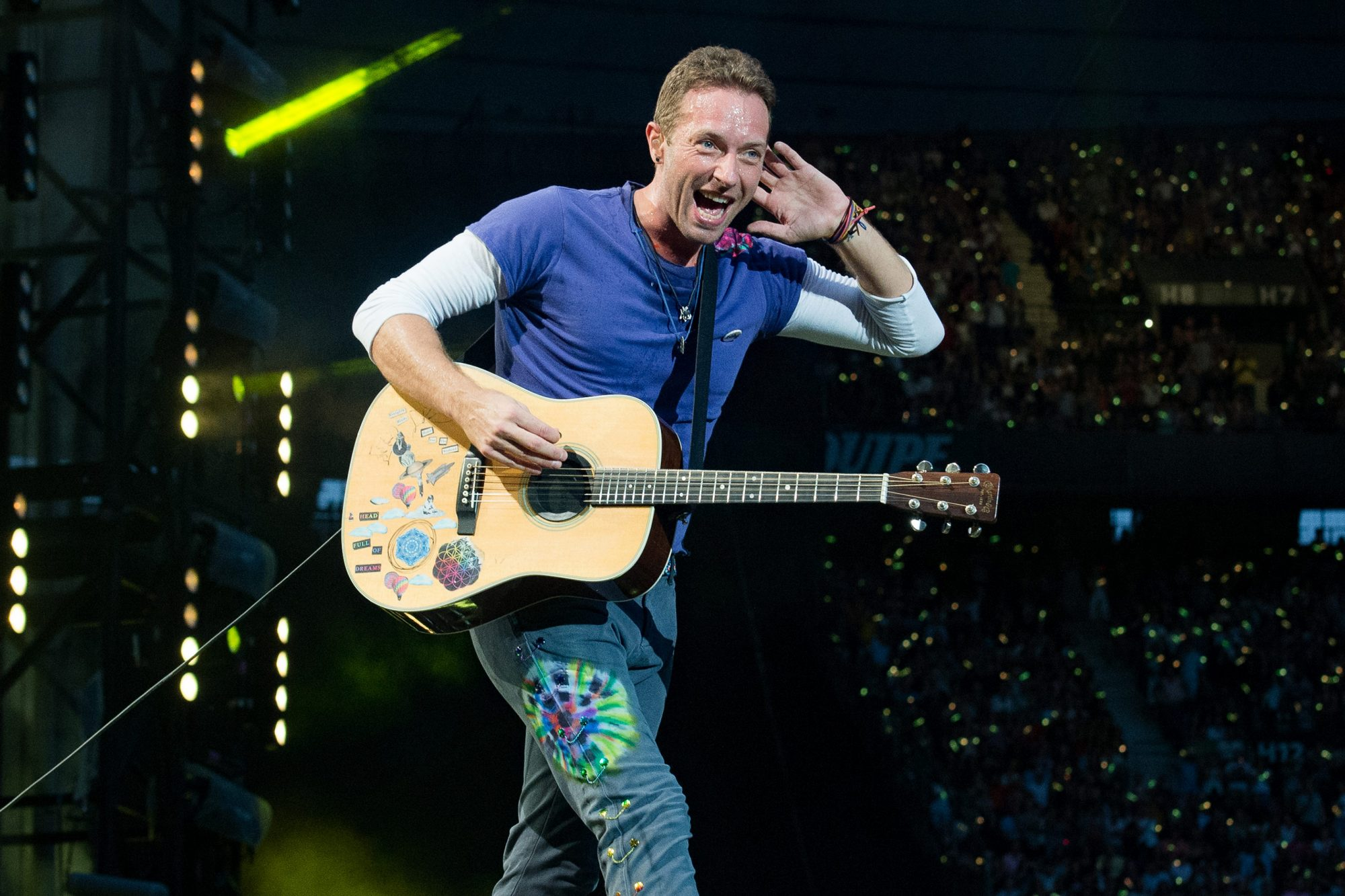 Coldplay  Performs At Stade De France In Paris