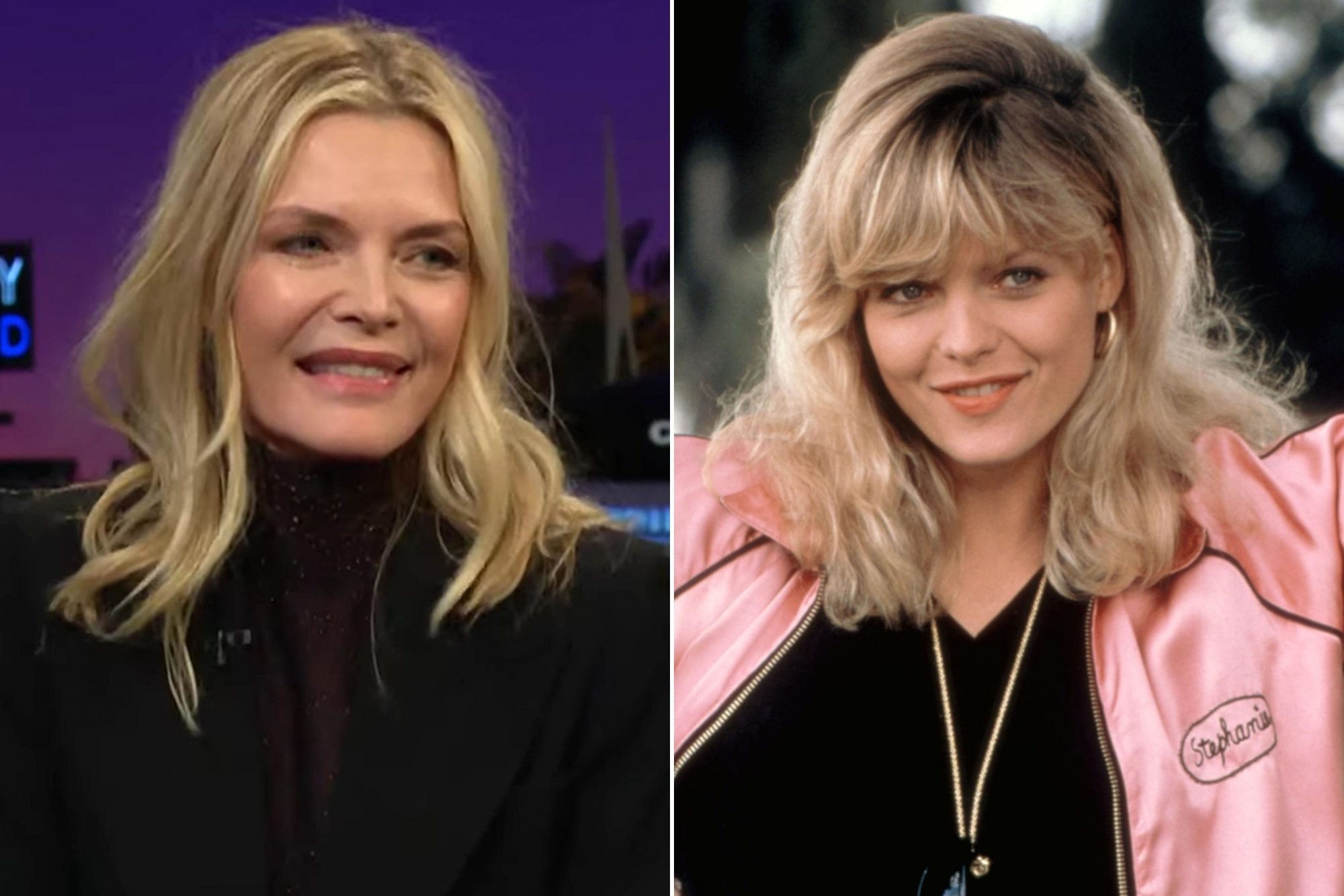The Late Late Show; GREASE 2 - Michelle Pfeiffer
