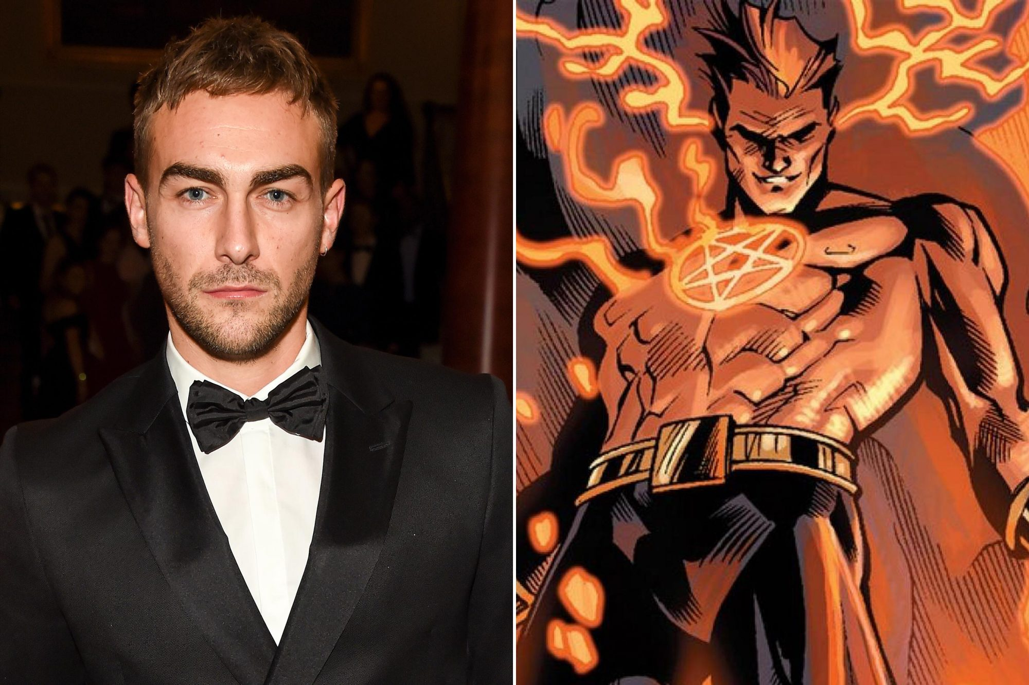 cast in Marvel's Helstrom ...