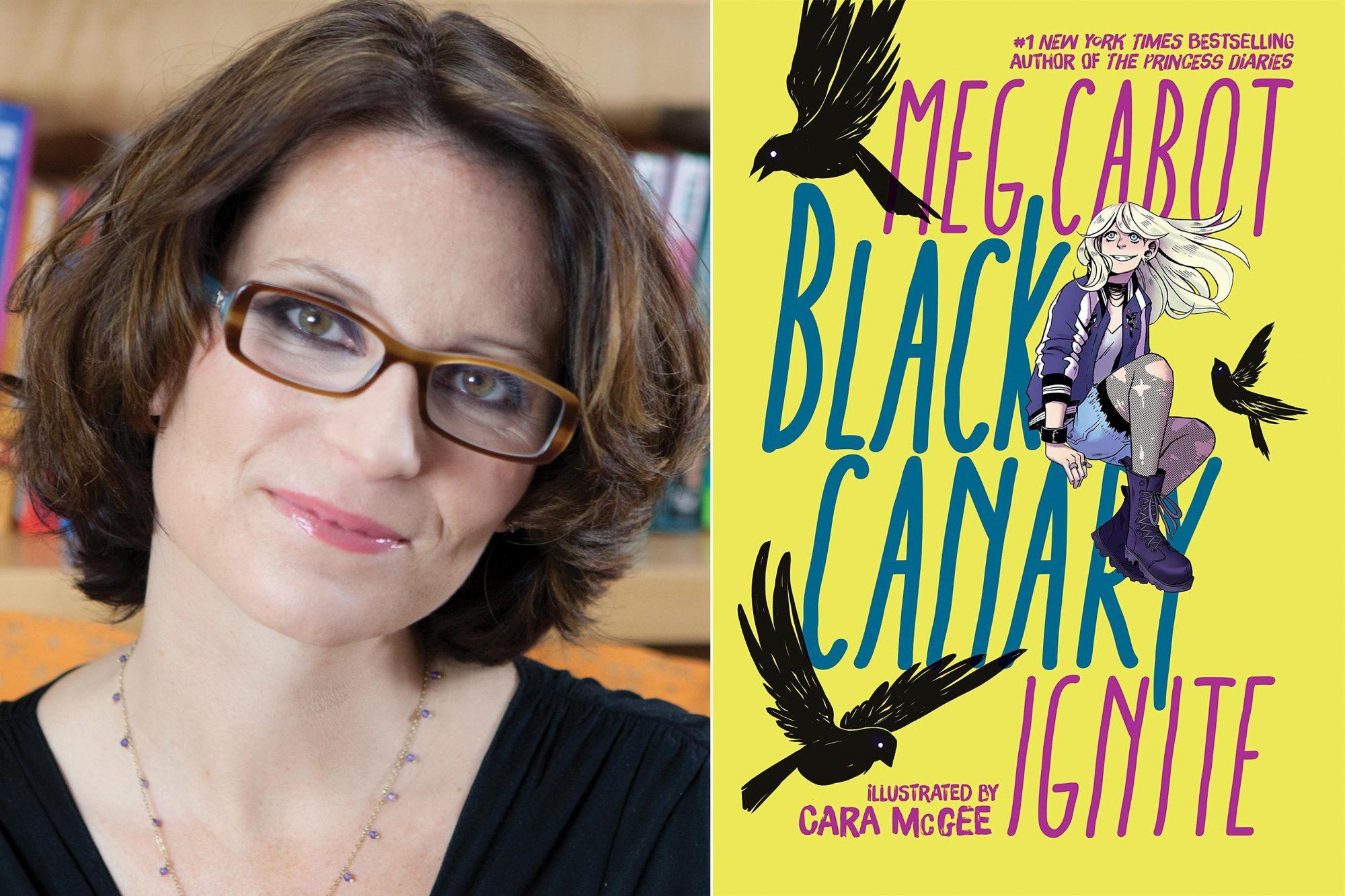 Meg Cabot author photo CR: Lisa DeTullio Russell Black Canary: Ignite – October 29, 2019 by Meg Cabot (Author), Cara McGee (Illustrator) CR: DC Zoom