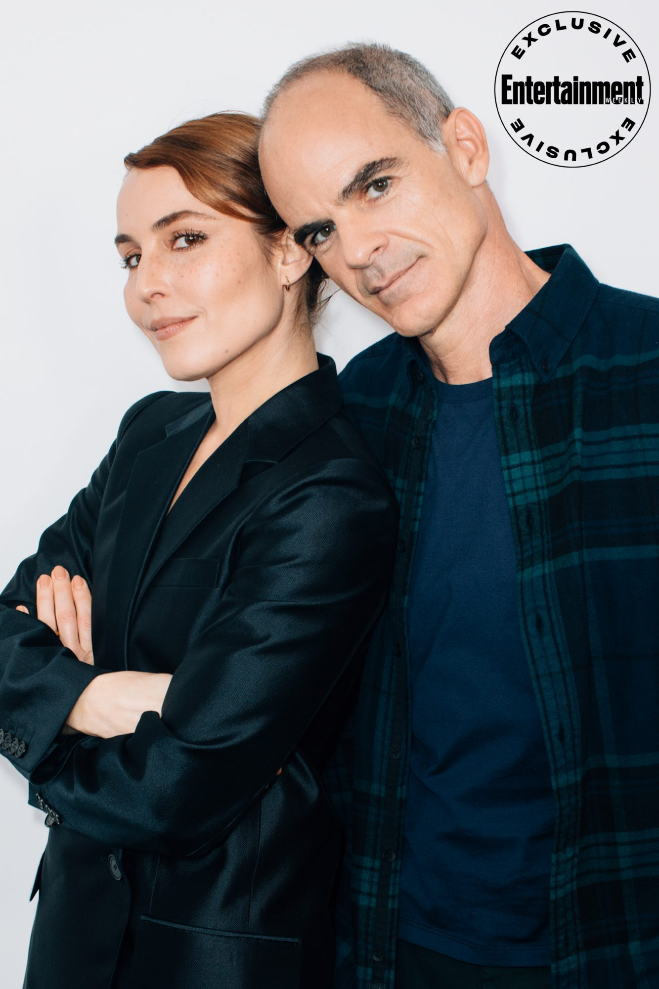 Noomi Rapace and Michael Kelly from Tom Clancy's Jack Ryan
