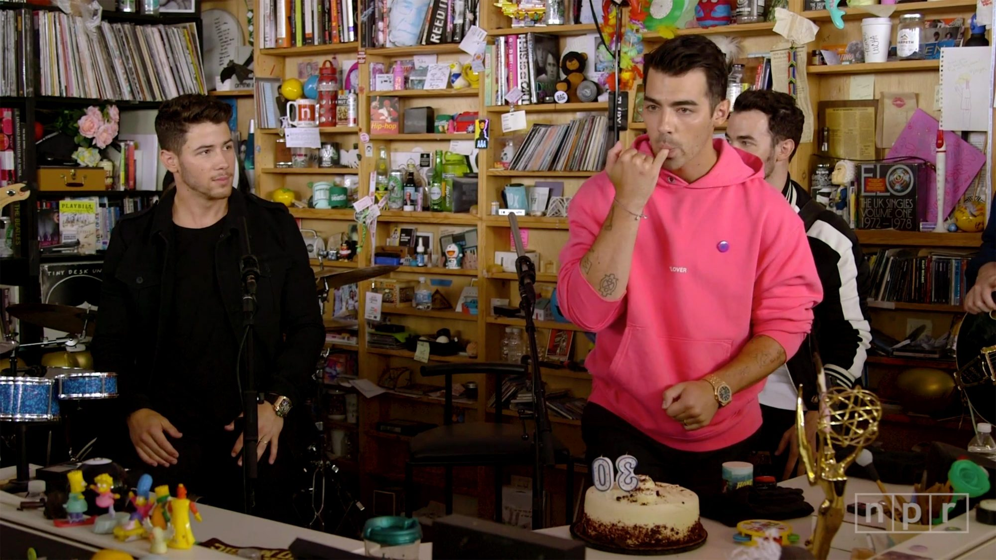 Jonas Brothers Tiny Desk concert