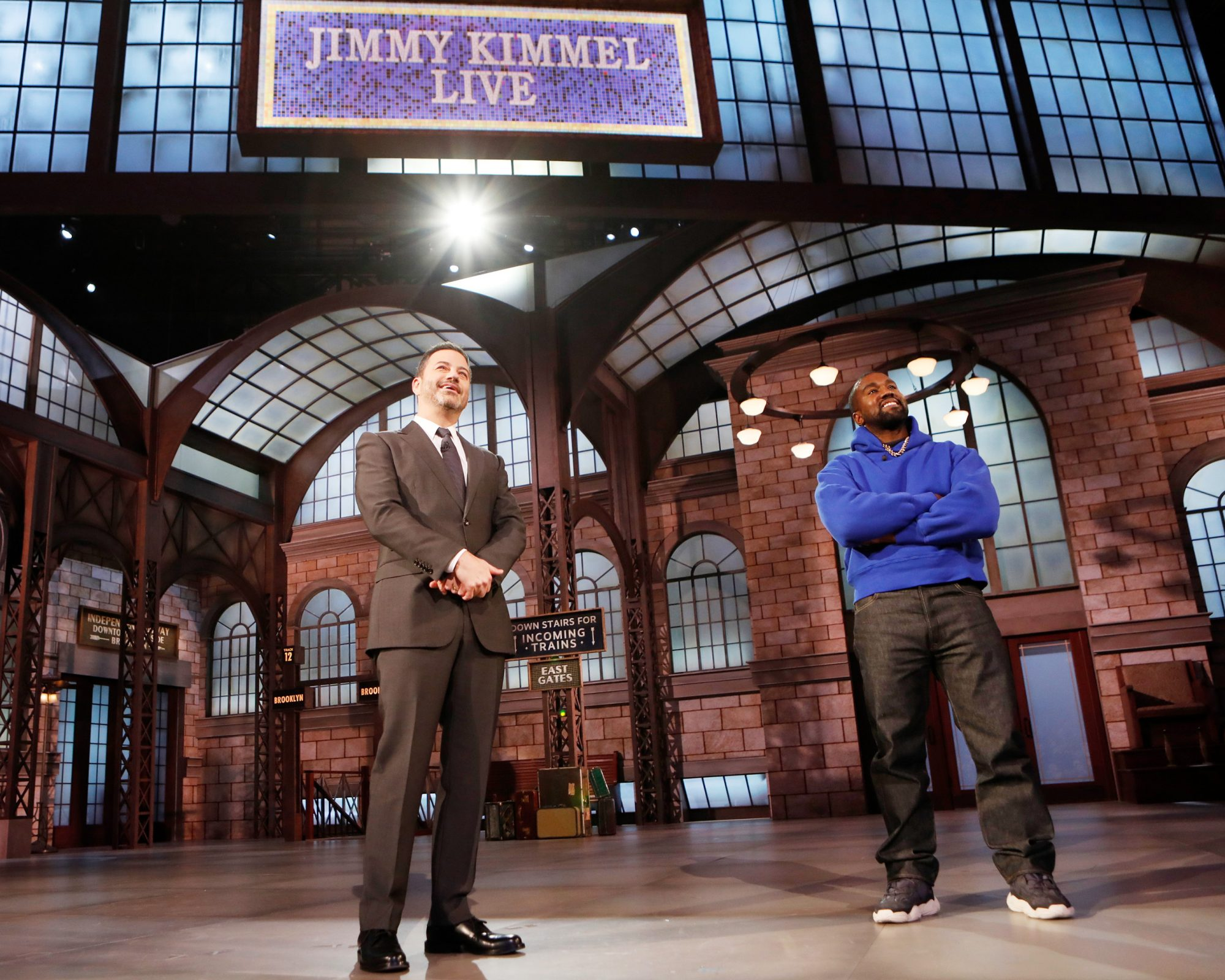 Jimmy Kimmel Live Kanye West