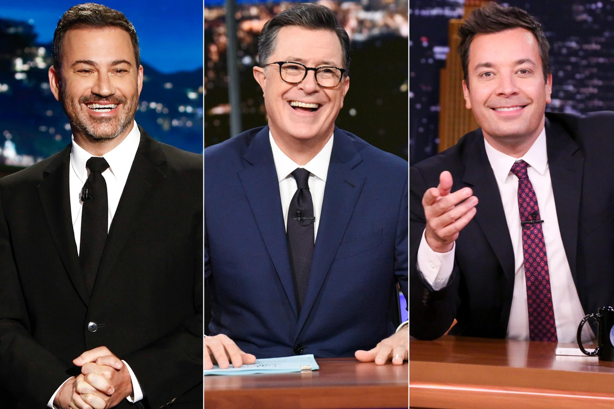 Jimmy Kimmel / Stephen Colbert / Jimmy Fallon