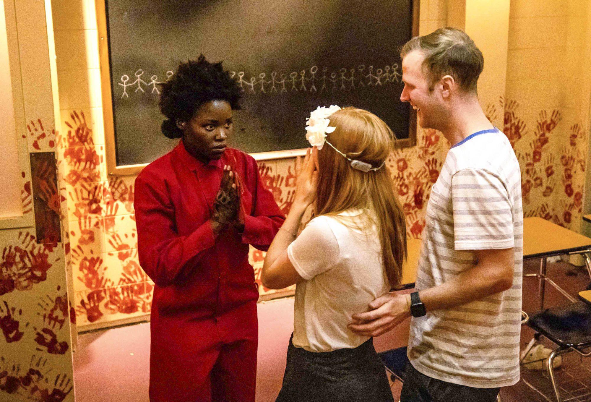 Lupita Nyong'o at HHN-USH (5)