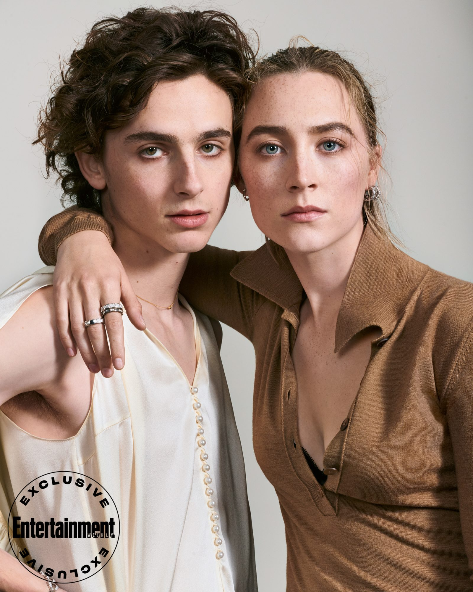 Little Women Timothée Chalamet and Saoirse Ronan