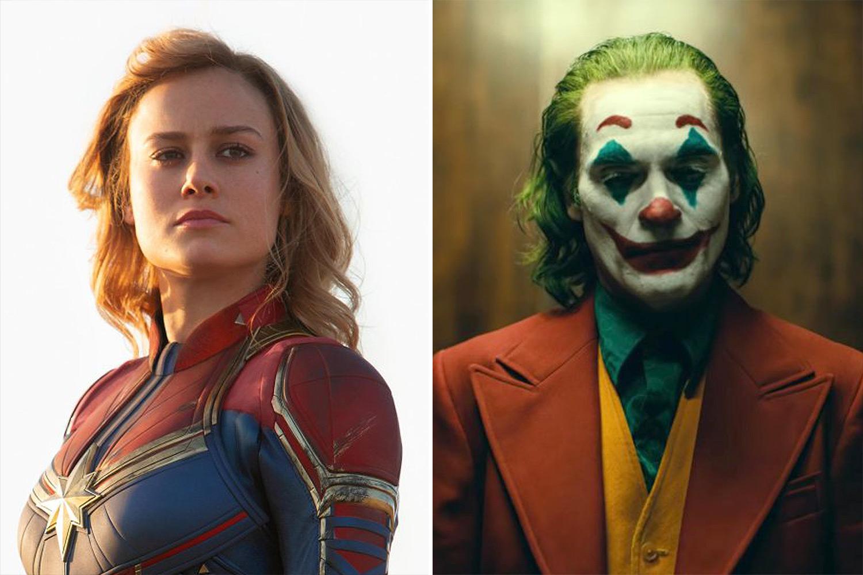 Captain Marvel and Joker