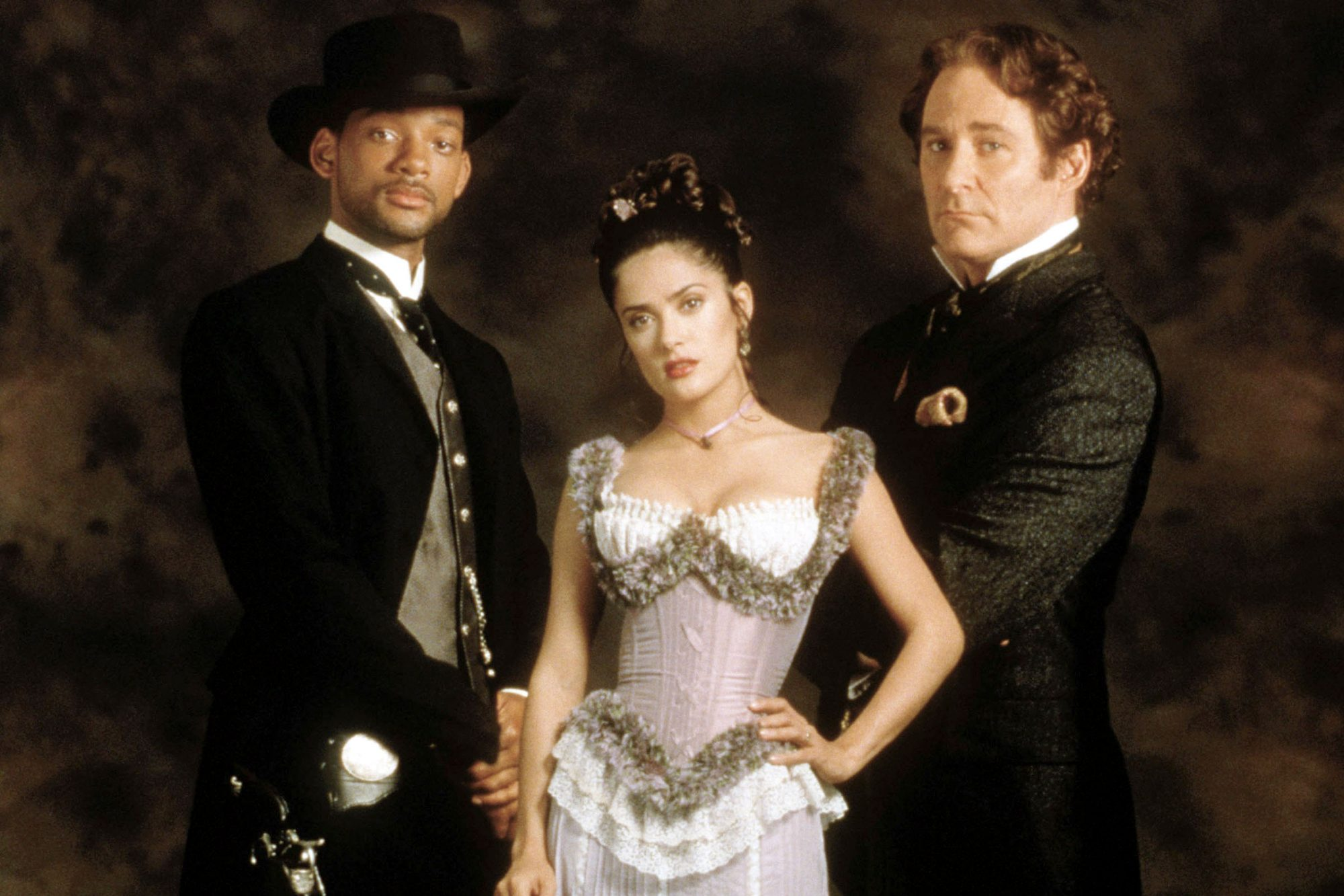 WILD WILD WEST, Will Smith, Salma Hayek, Kevin Kline, 1999, (c) Warner Brothers/courtesy Everett Col