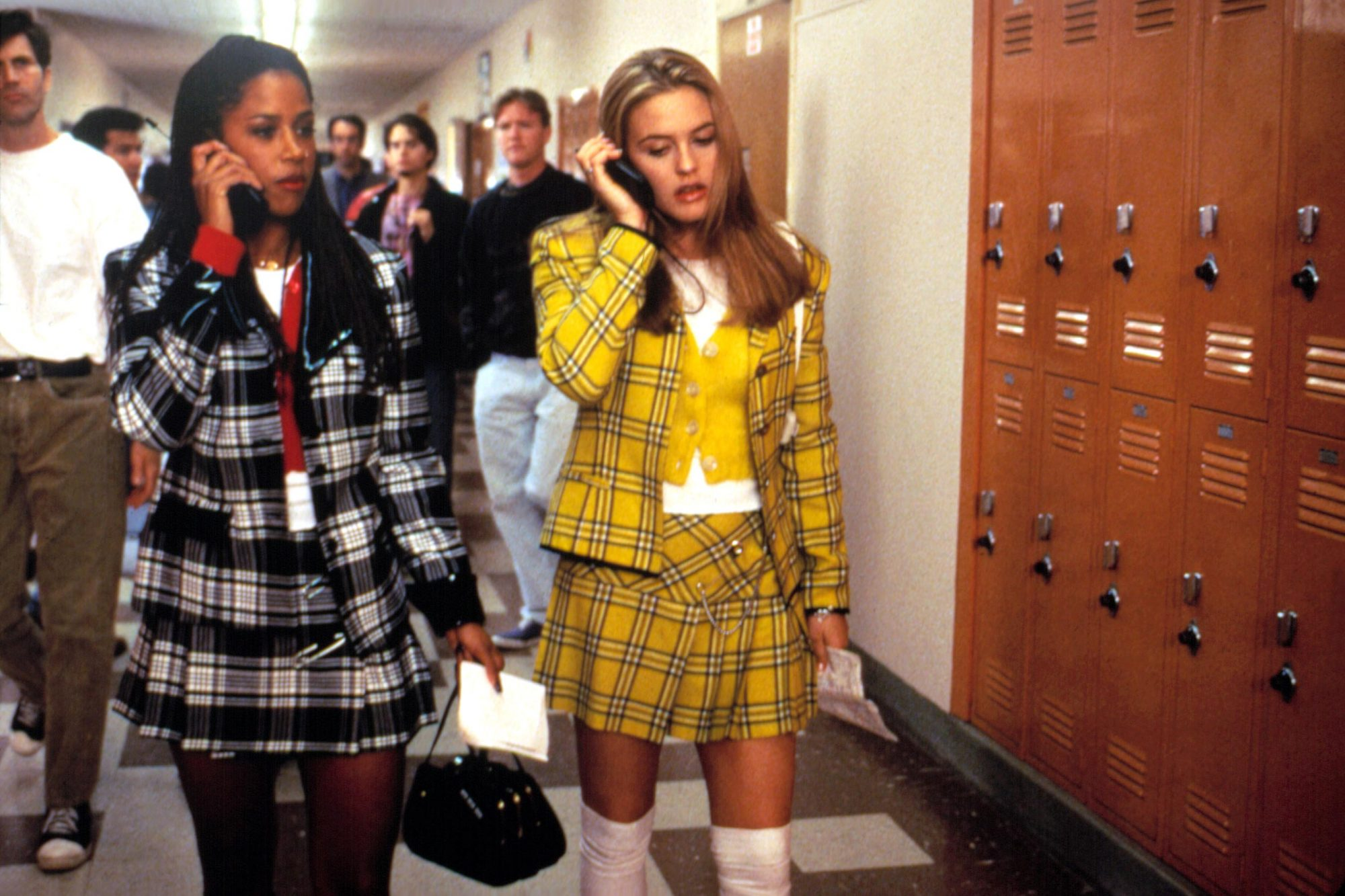 CLUELESS, Alicia Silverstone, Stacey Dash, 1995. © Paramount Pictures/ Courtesy: Everett Collection