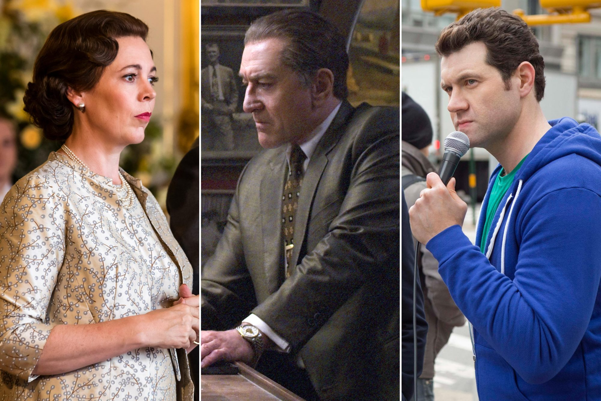 The Crown; The Irishman; Billy on the Street