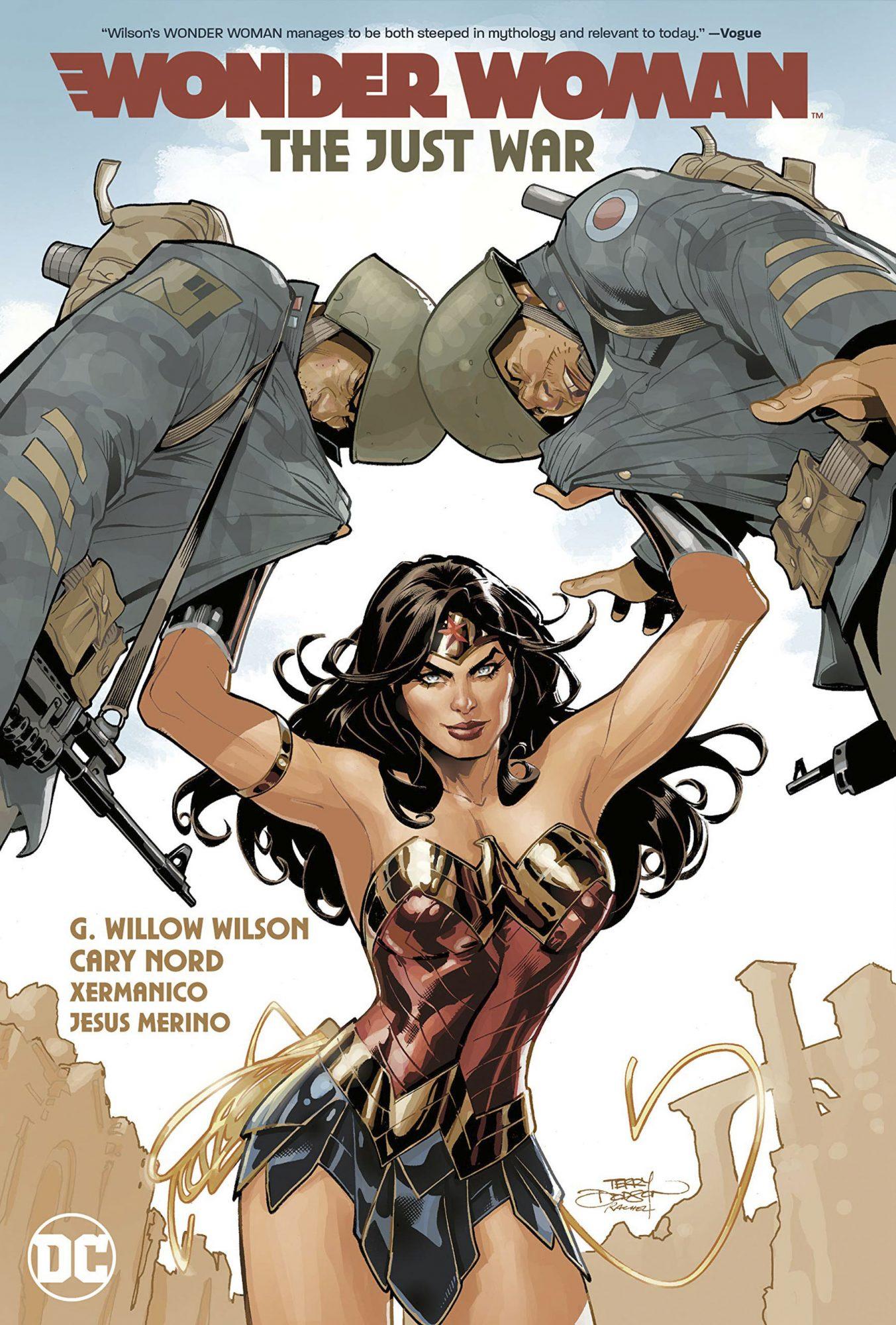 Wonder Woman: The Just War CR: DC Comics