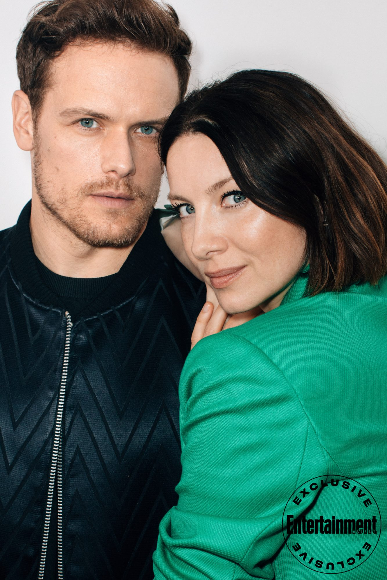 Sam Heughan and Caitriona Balfe from Outlander