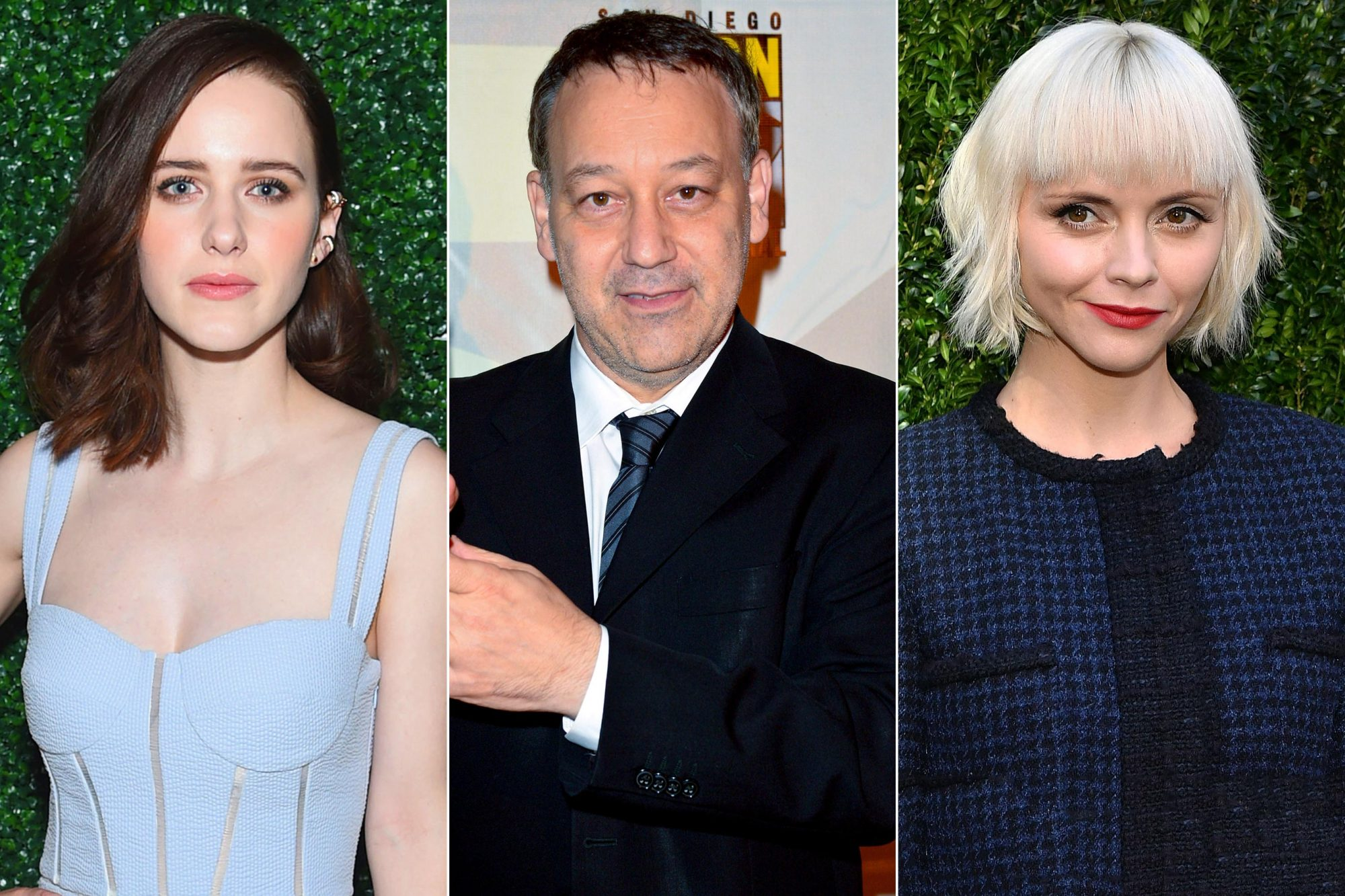 Rachel Brosnahan, Christina Ricci, and Sam Raimi