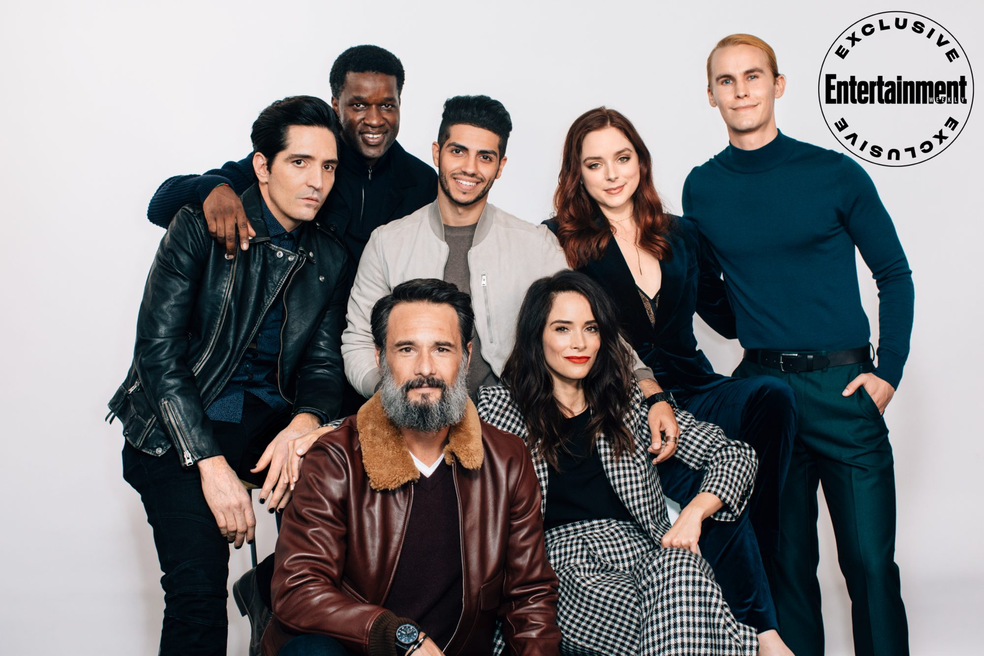 David Dastmalchian, Gilbert Owuor, Rodrigo Santoro, Mena Massoud, Abigail Spencer, Madison Davenport, and Rhys Wakefield from Reprisal