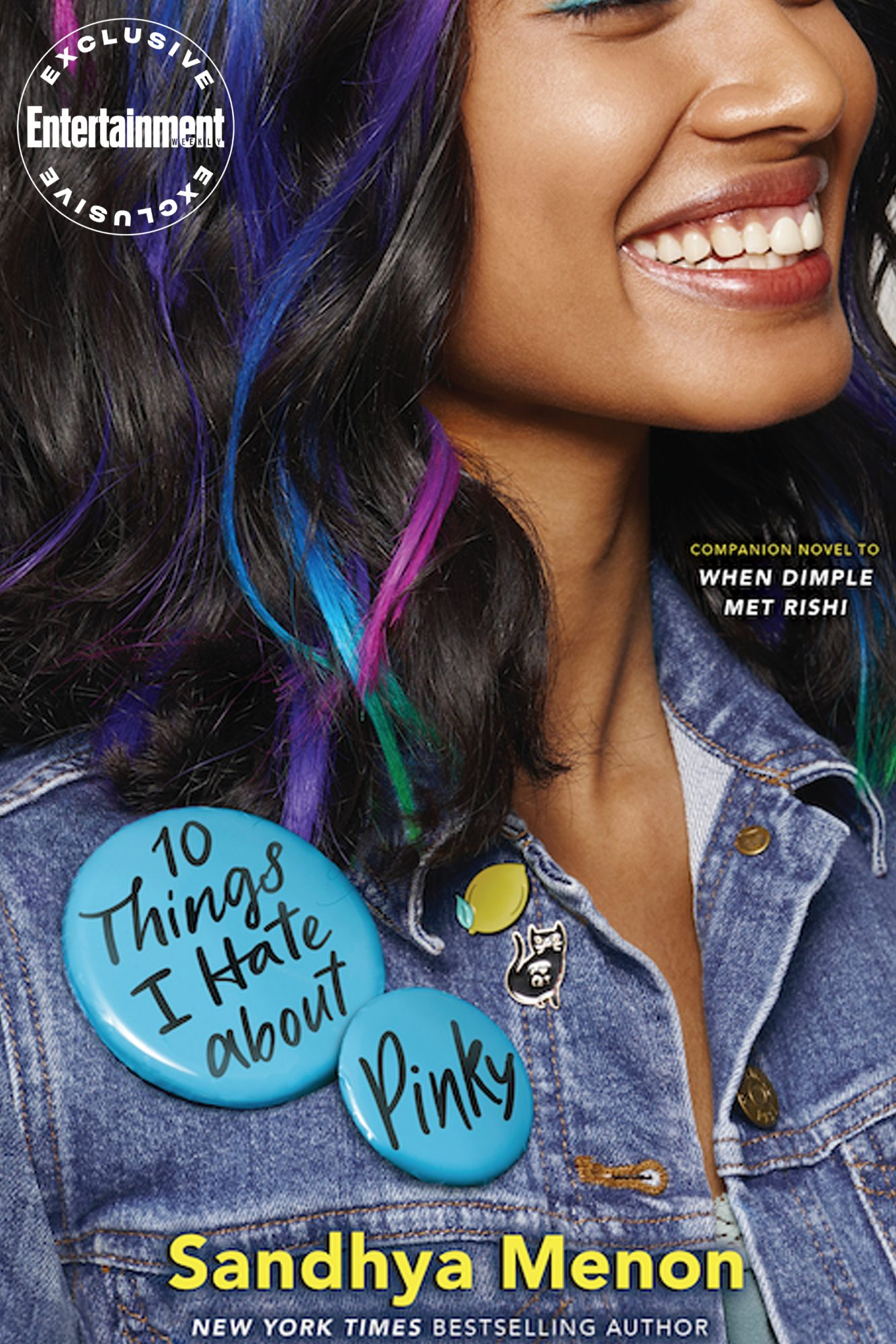 10 Things I Hate About Pinky cover reveal