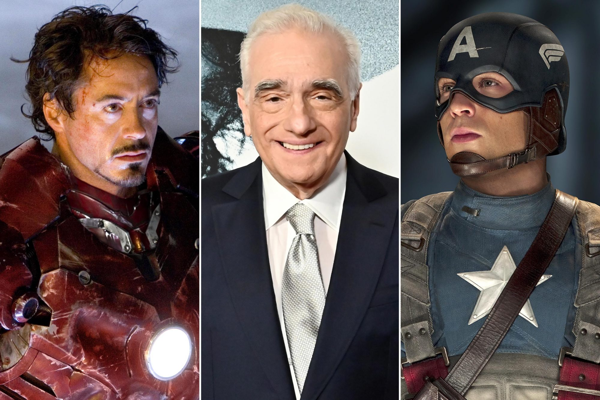 Iron Man; Martin Scorsese; Captain America: The First Avengers