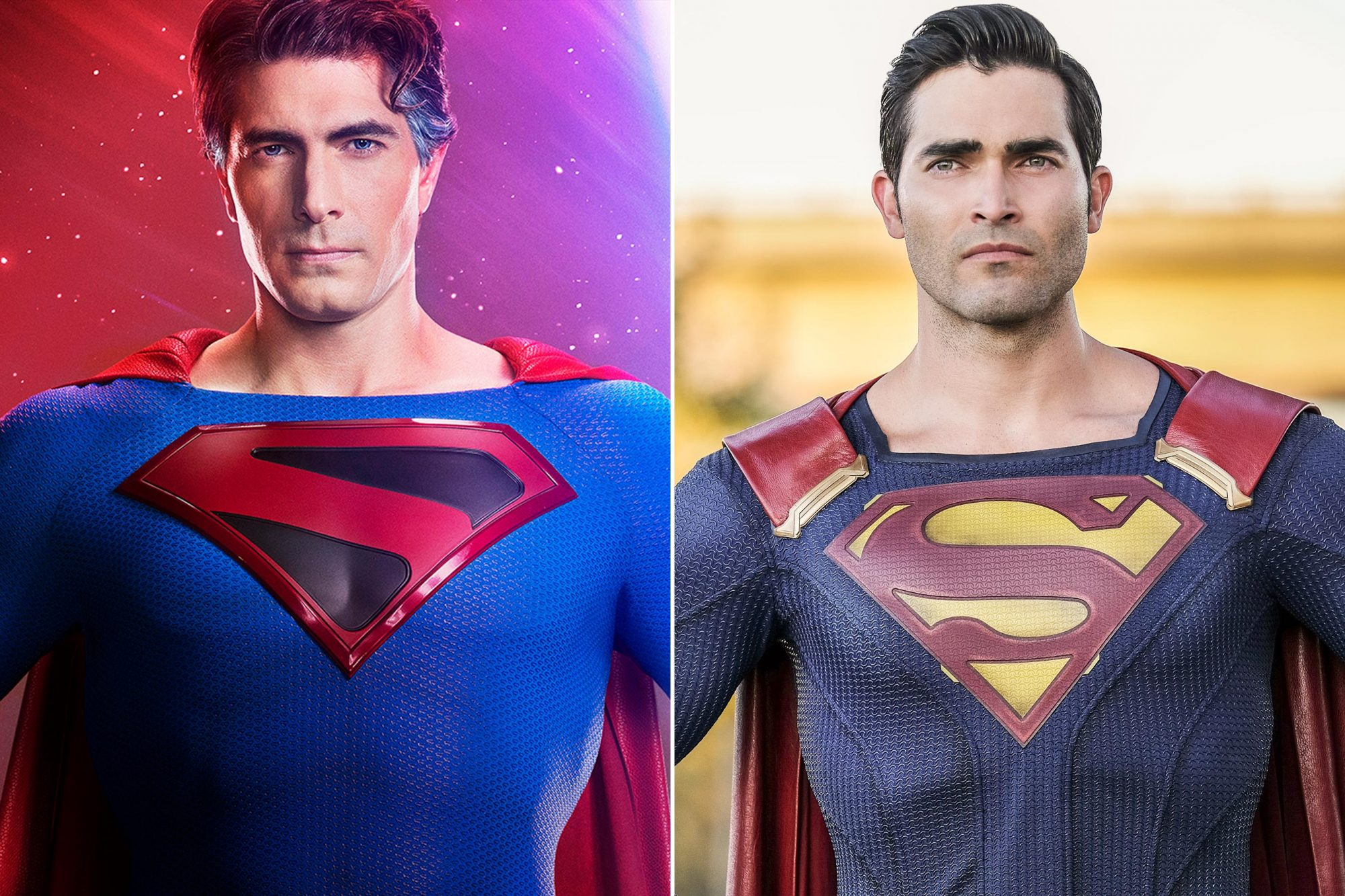 Brandon Routh; Tyler Hoechlin