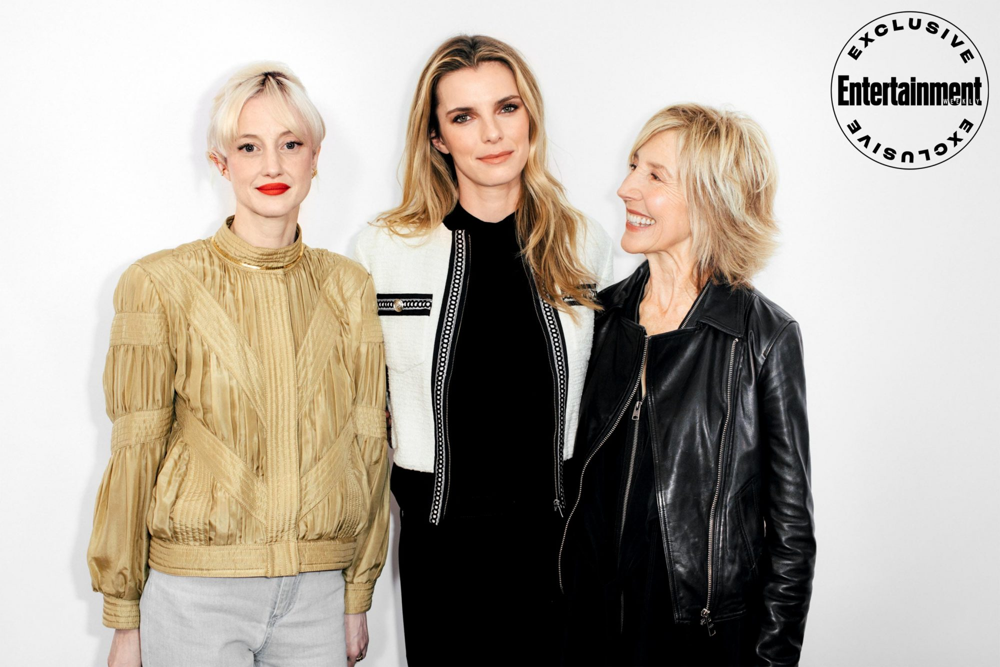 Andrea Riseborough, Betty Gilpin, and Lin Shaye from The Grudge