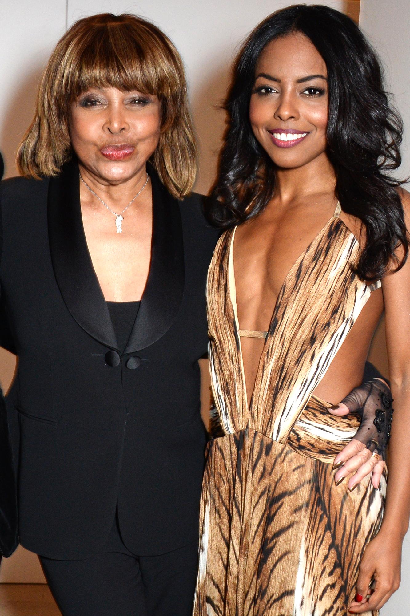 Adrienne Warren and Tina Turner