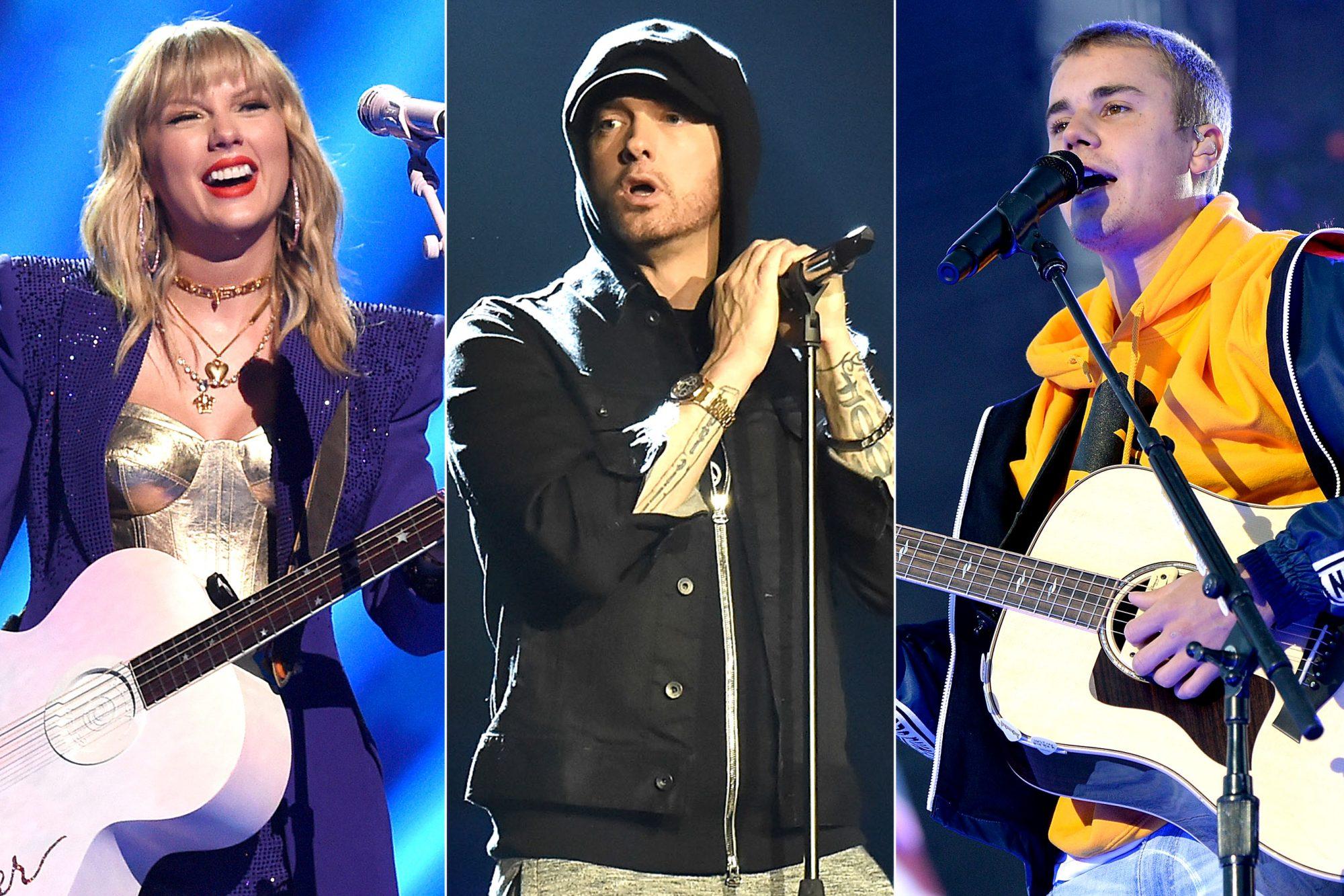 Taylor Swift / Eminem / Justin Bieber